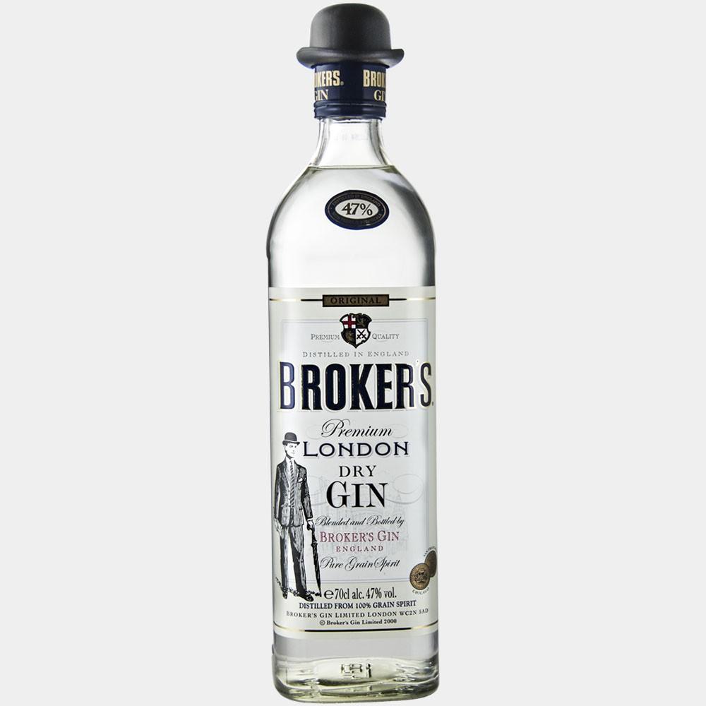 Broker's Premium Dry Gin 0.7L 47% Alk.