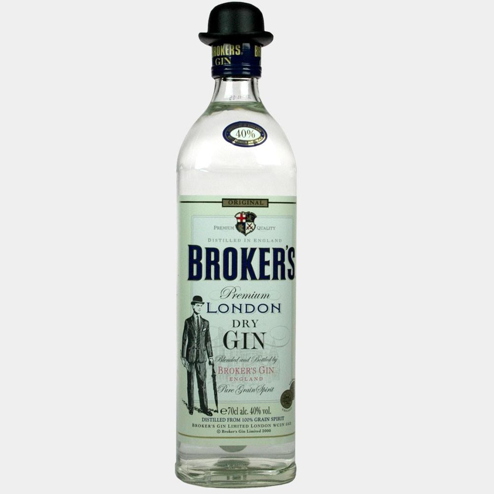 Broker's Premium Dry Gin 0.7L 40% Alk.