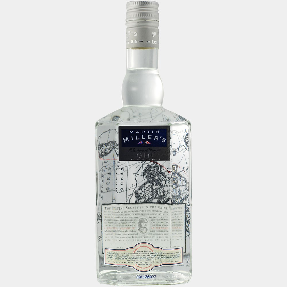 Martin Millers Westbourne Strength Dry Gin 0.7L 45.2% Alk.