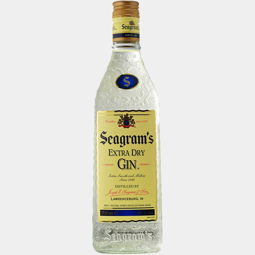 Seagrams Extra Dry Gin 0.7L 40% Alk.