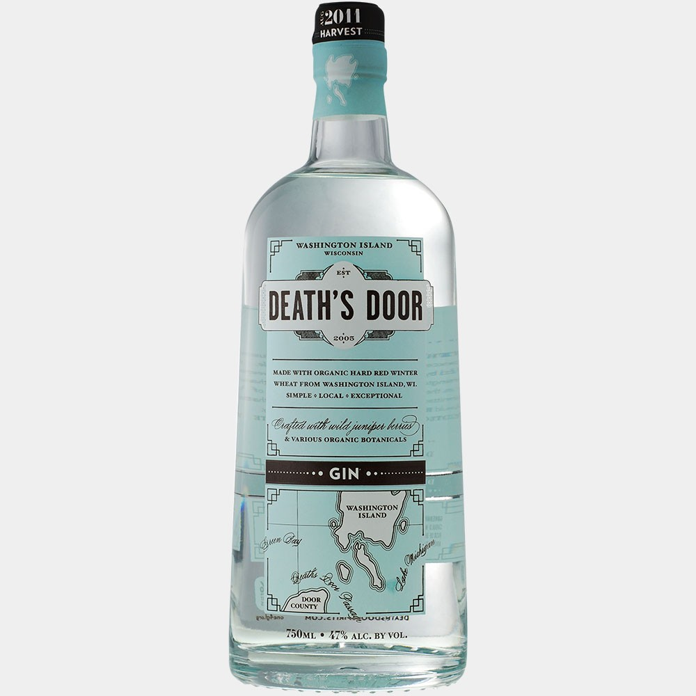 Death's Door Gin 0.75L 47% Alk.