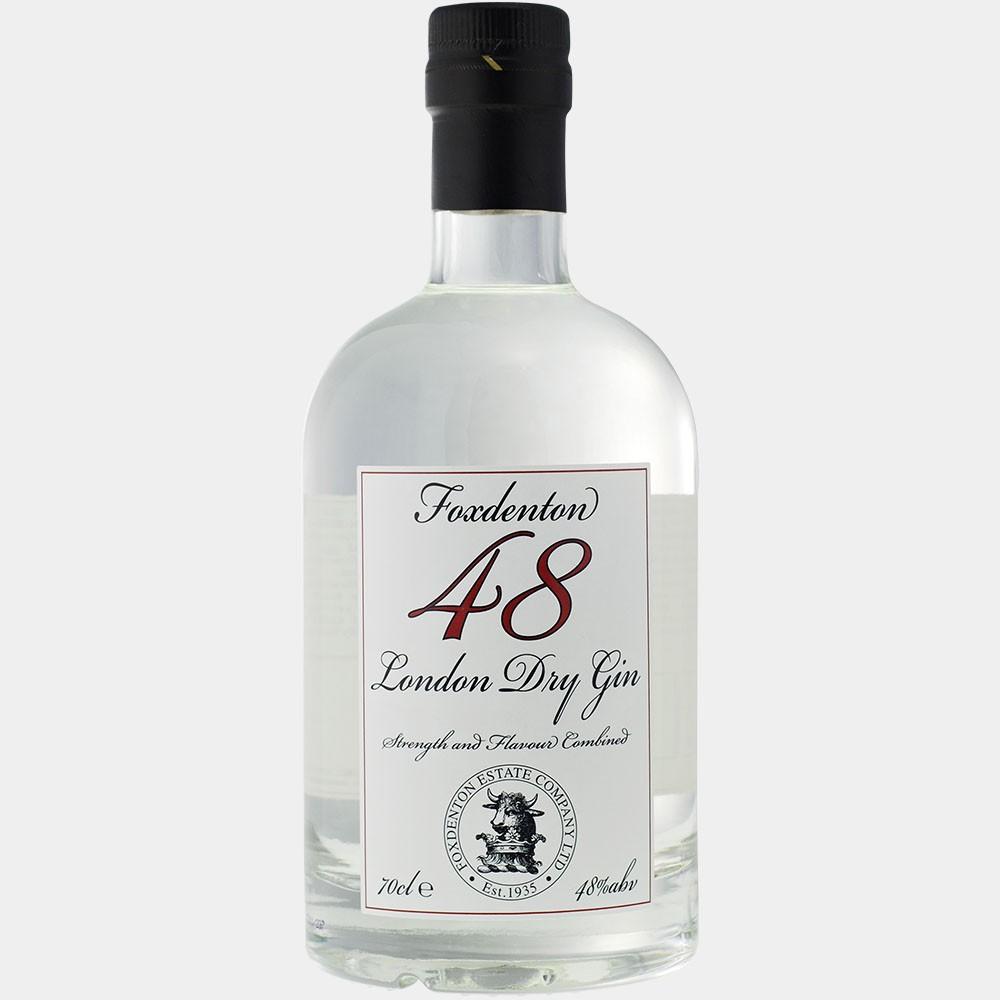 Foxdenton Dry Gin 0.7L 48% Alk.