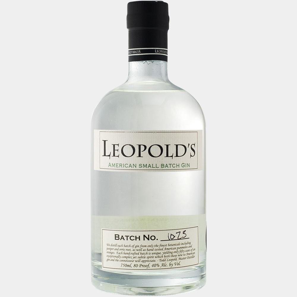 Leopold's American Small Batch Gin 0.75L 40% Alk.