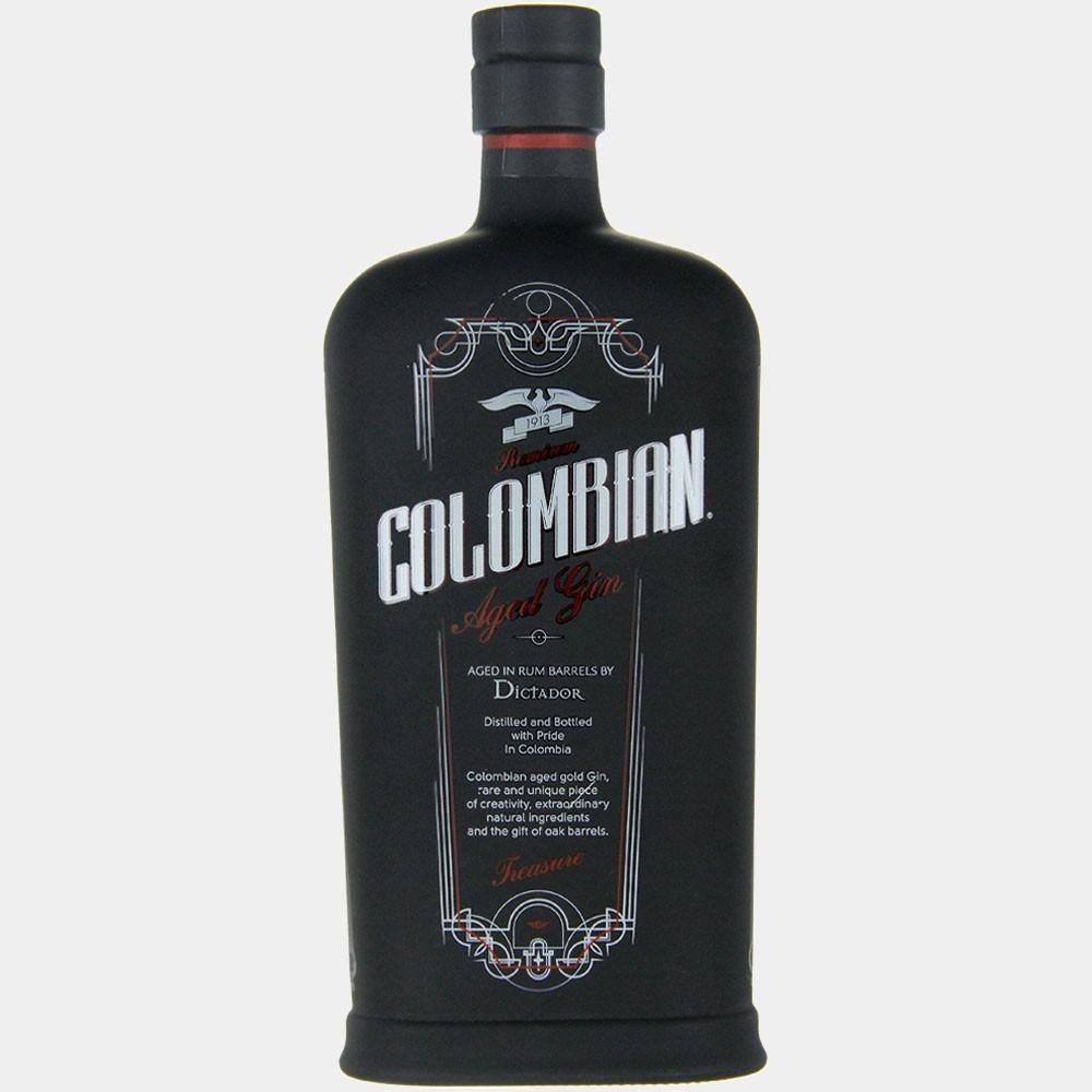 Colombian Aged Gin - Black 0.7L 43% Alk.
