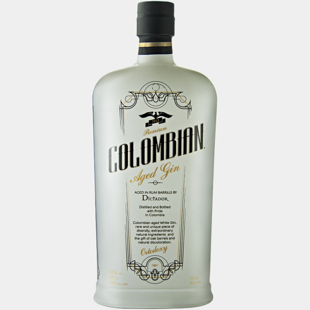 Colombian Aged Gin - White 0.7L 43% Alk.