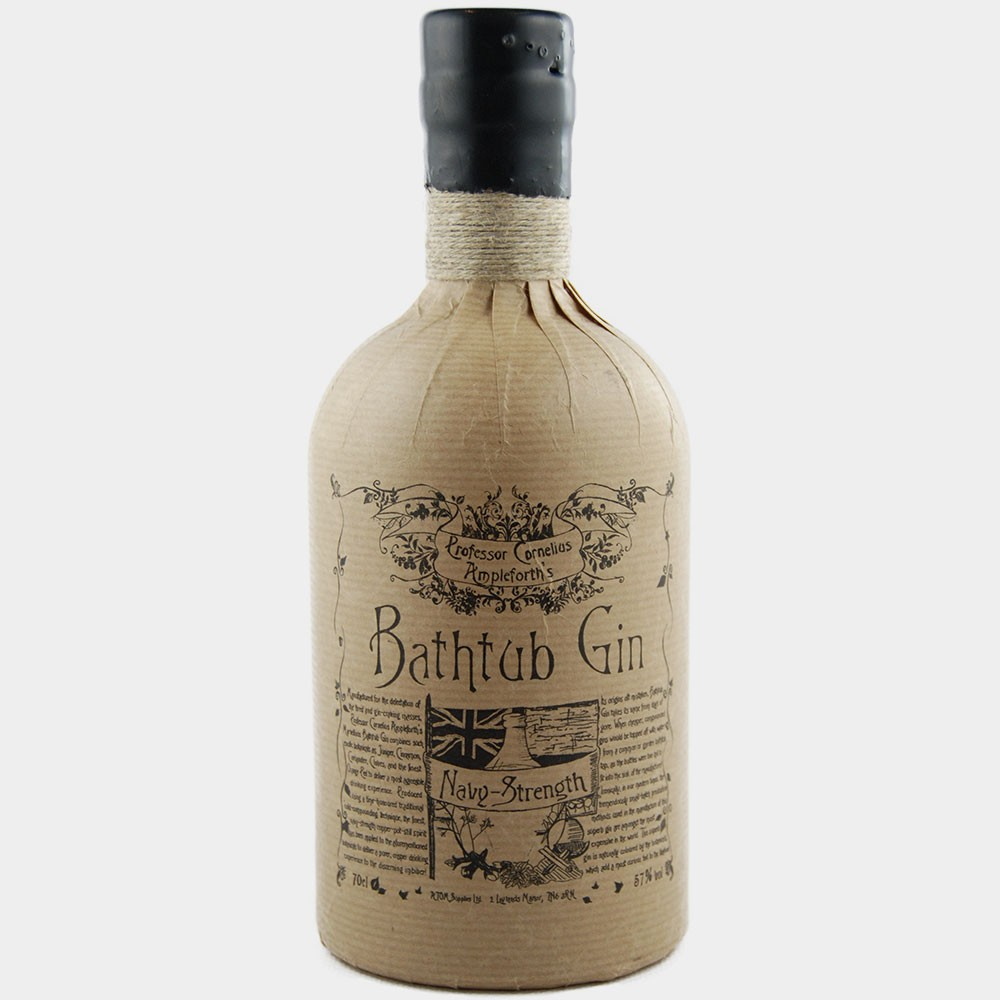 Ableforth´s Bathtub Gin Navystrength 57% Alk.