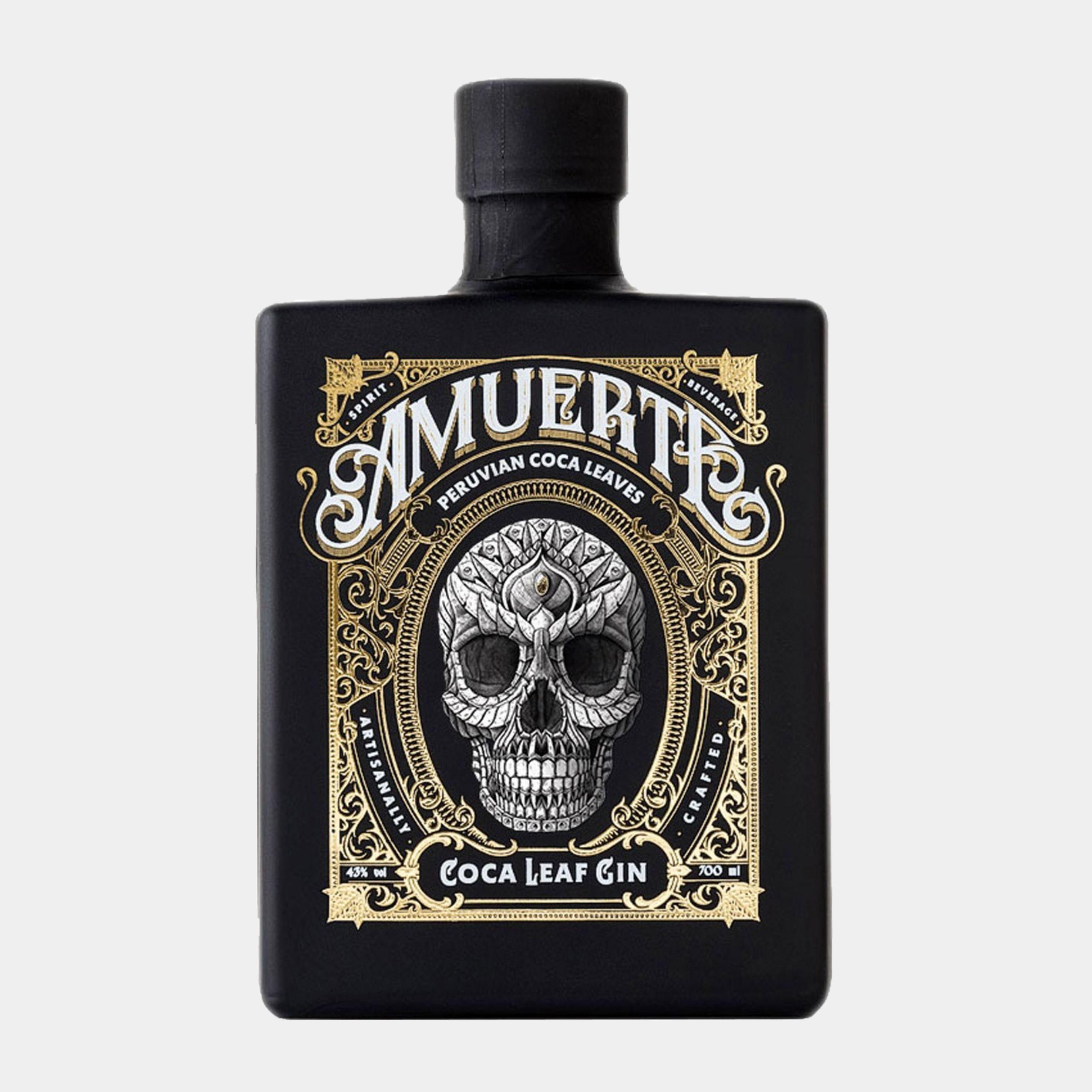 Amuerte Coca Leaf Gin Black 0,7l  43% Alk.