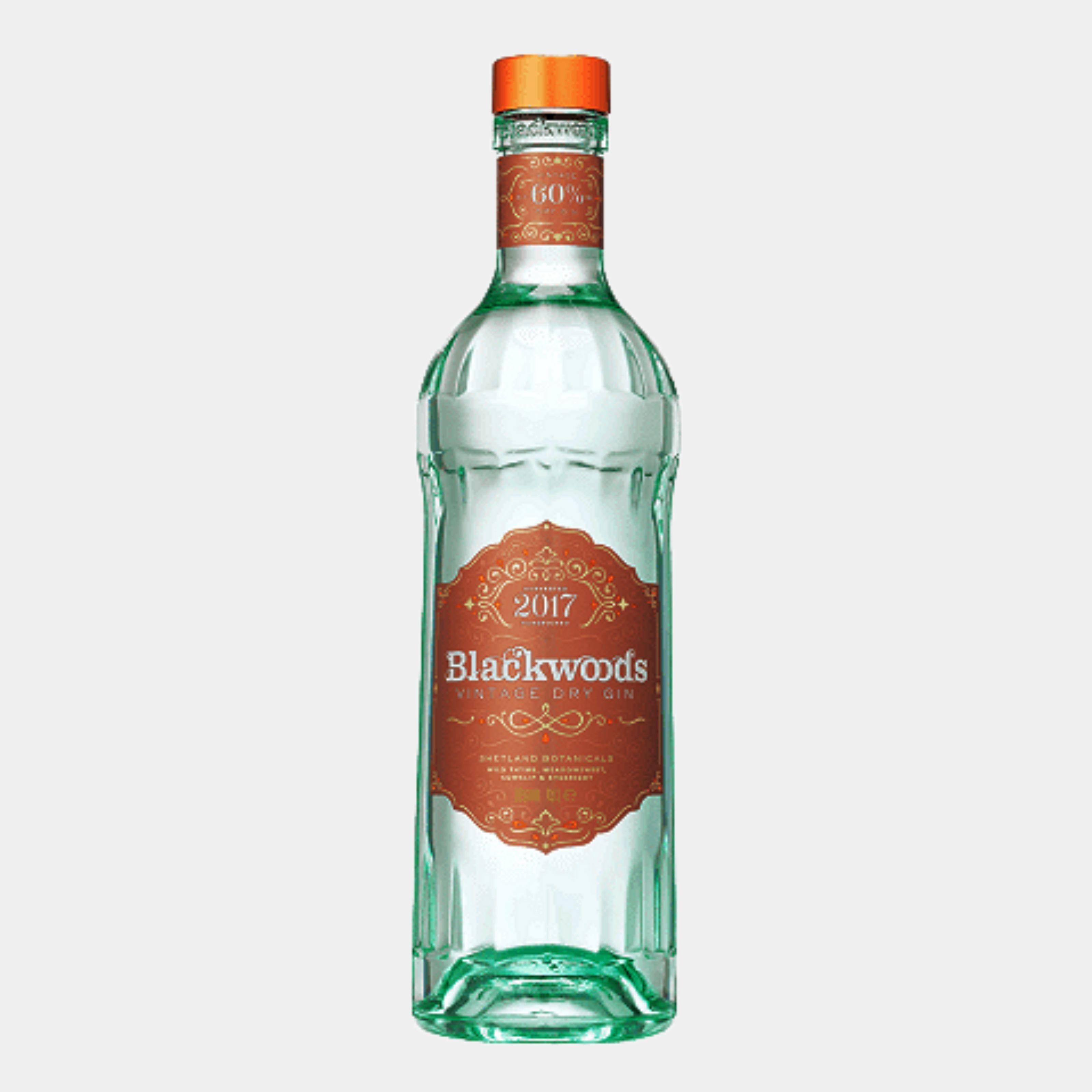Blackwood's Vintage Dry Gin 60% 0.7L 60% Alk.
