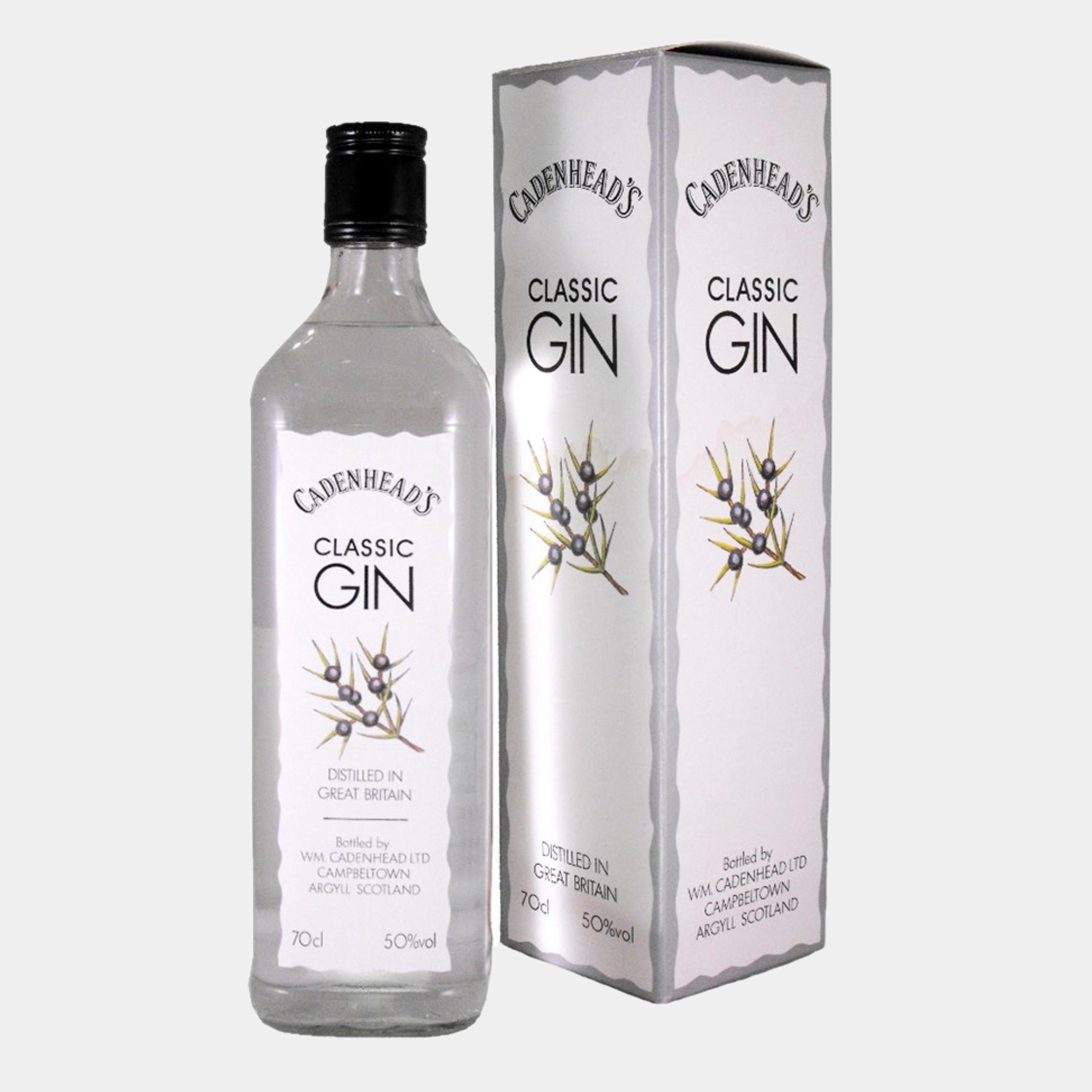 Cadenhead's Classic Gin 0.7L 50% Alk.