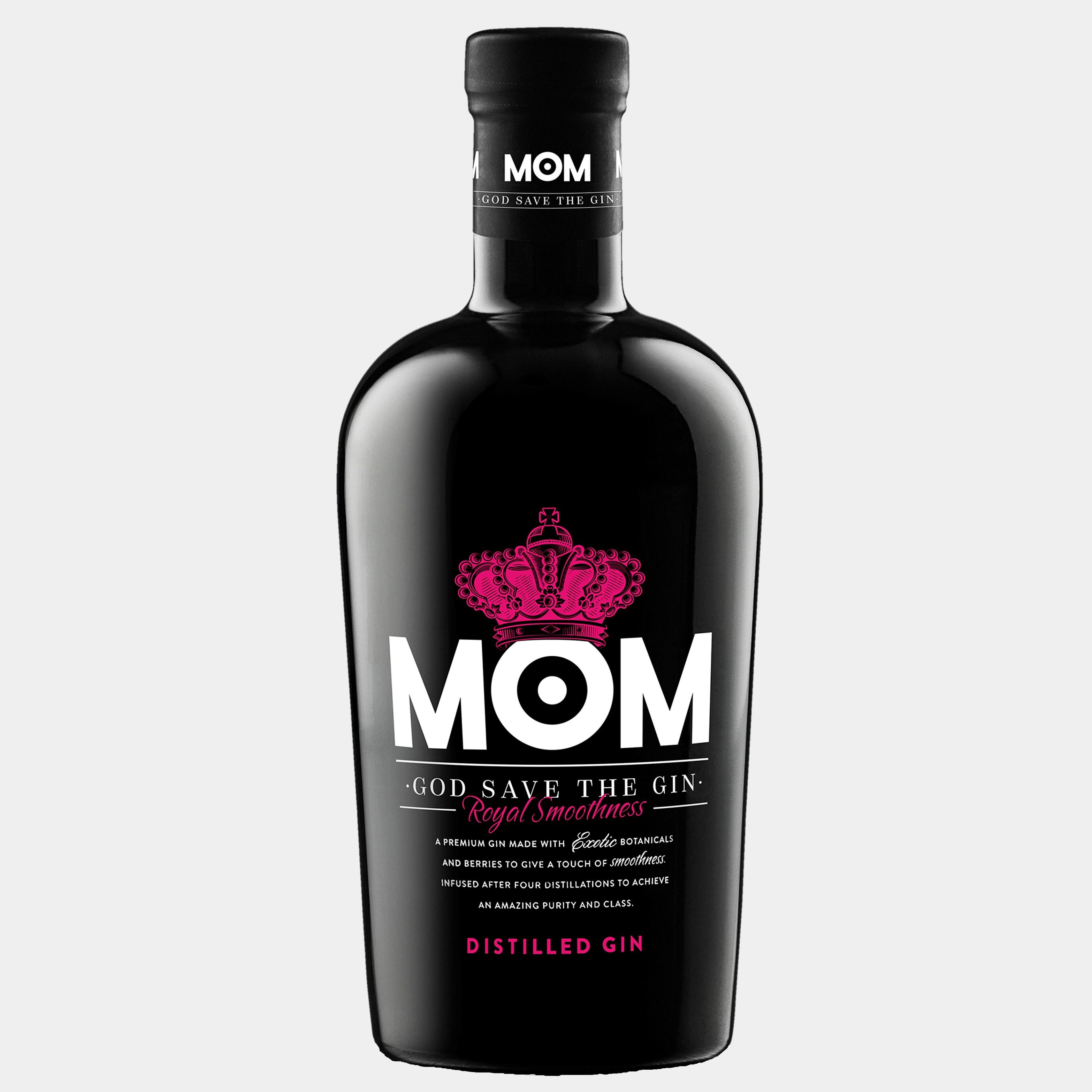 MOM Dry Gin 0.7L 39.5% Alk.