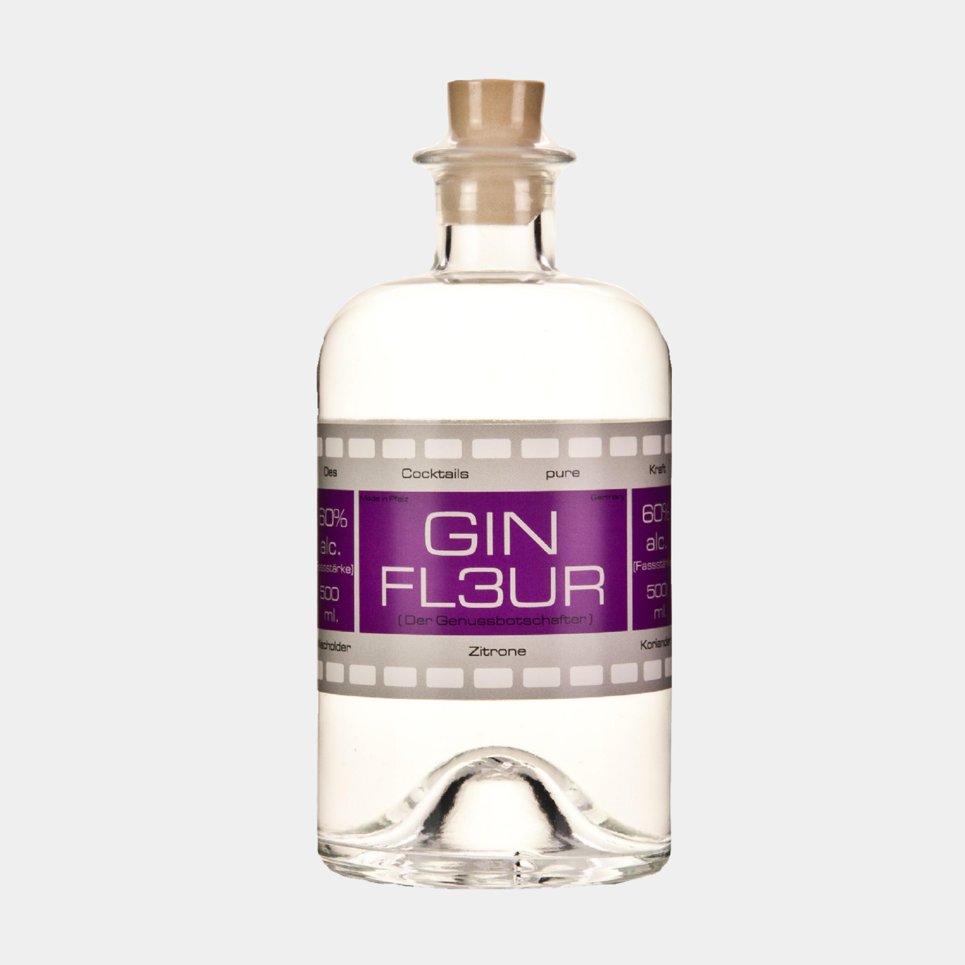Gin Fleur Fassstärke 0.5L 60% Alk.