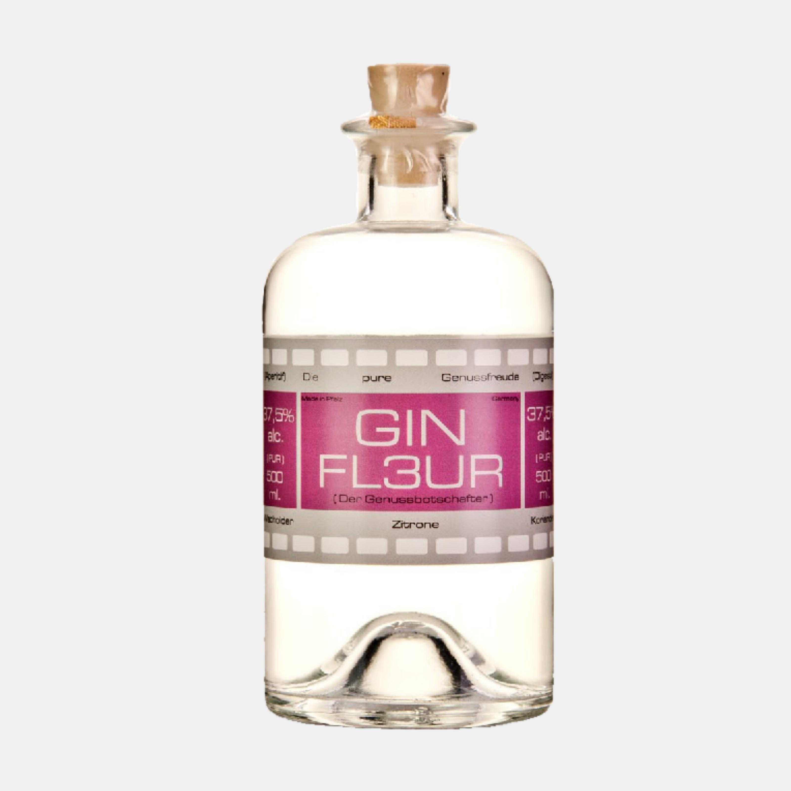 Gingesandter Gin Fleur 0.5L 37.5% Alk.