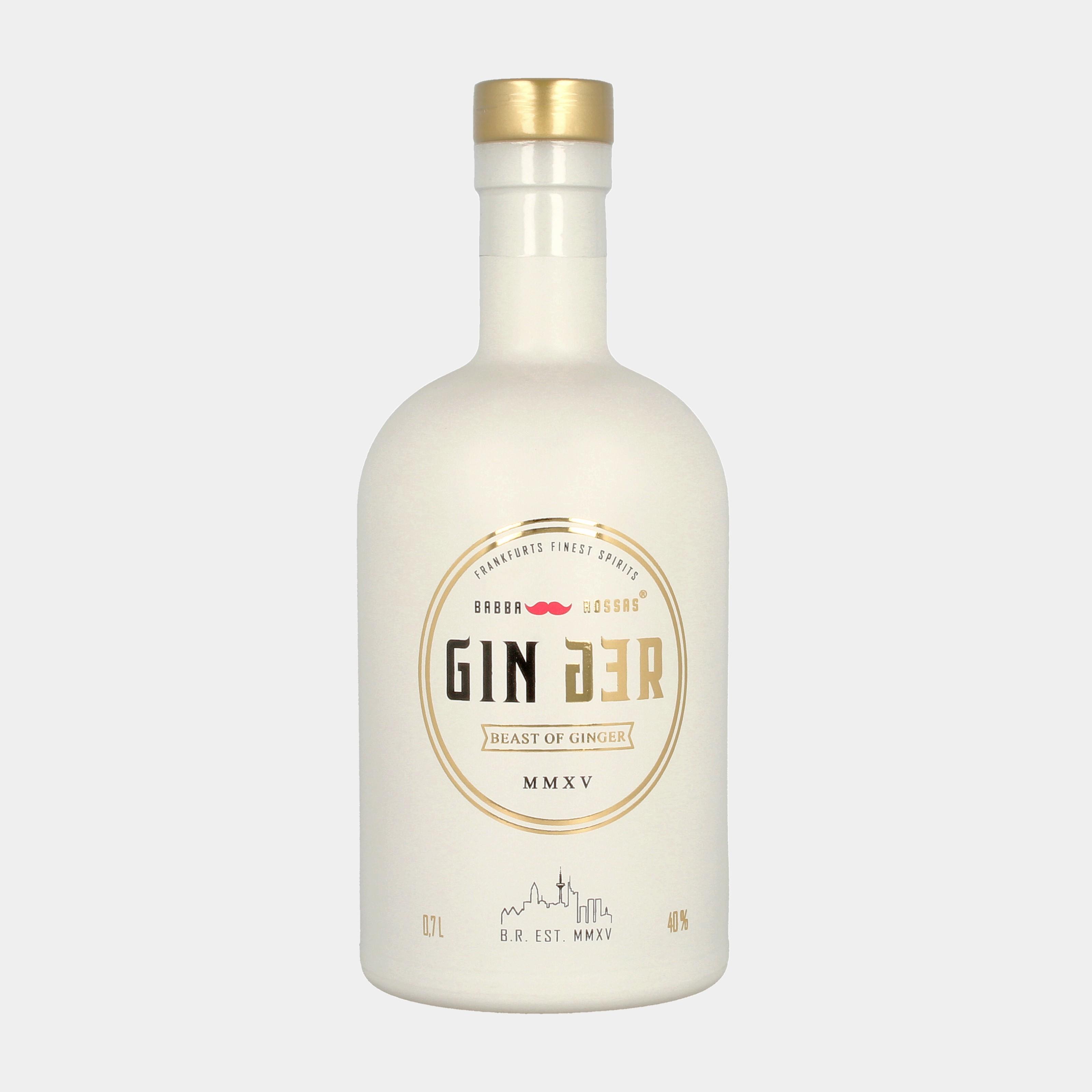 Ginger Gin 0.2l 40% Alk.
