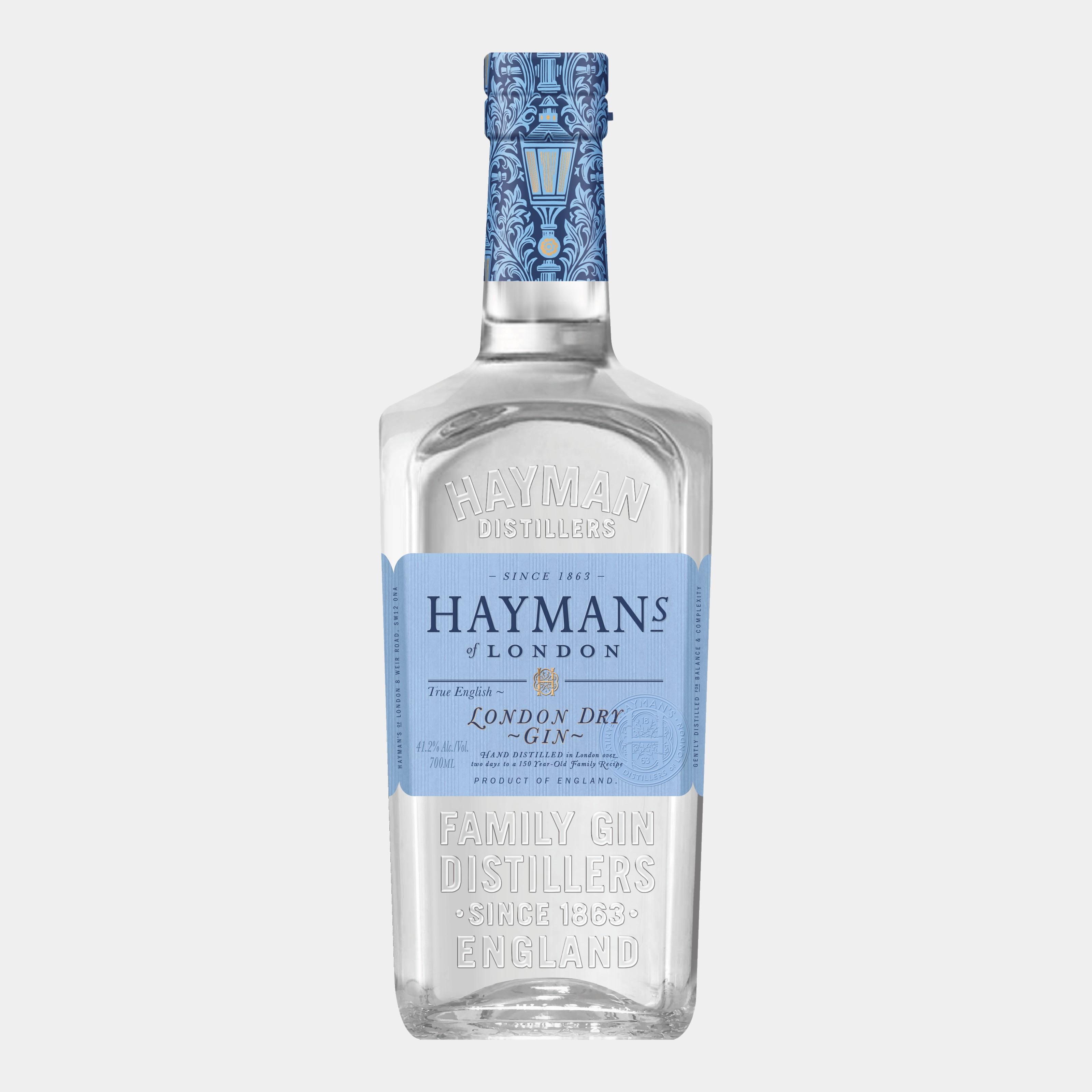 Hayman's London Dry Gin 0.7L 41,2% Alk.