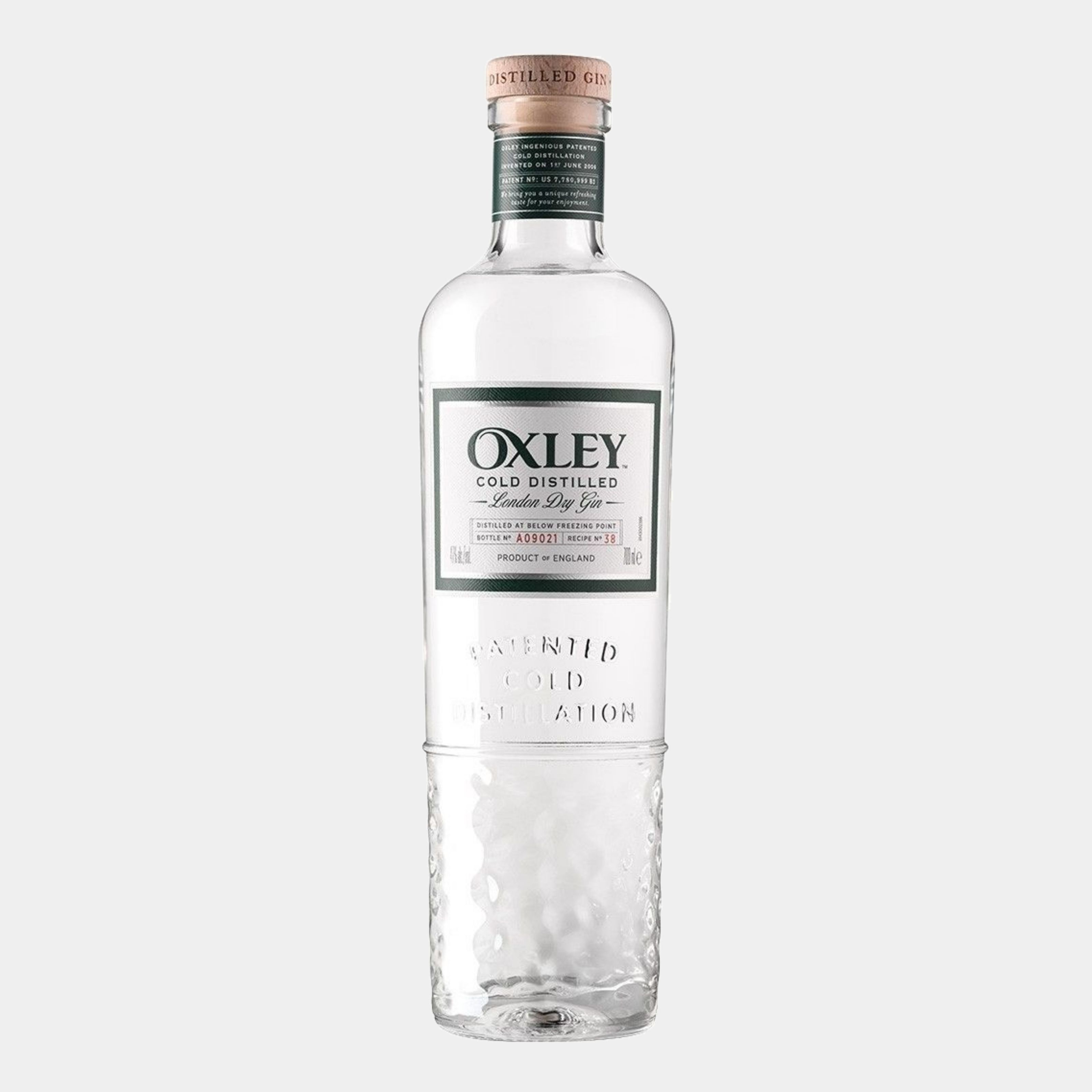 Oxley Dry Gin 0.7L 47% Alk.