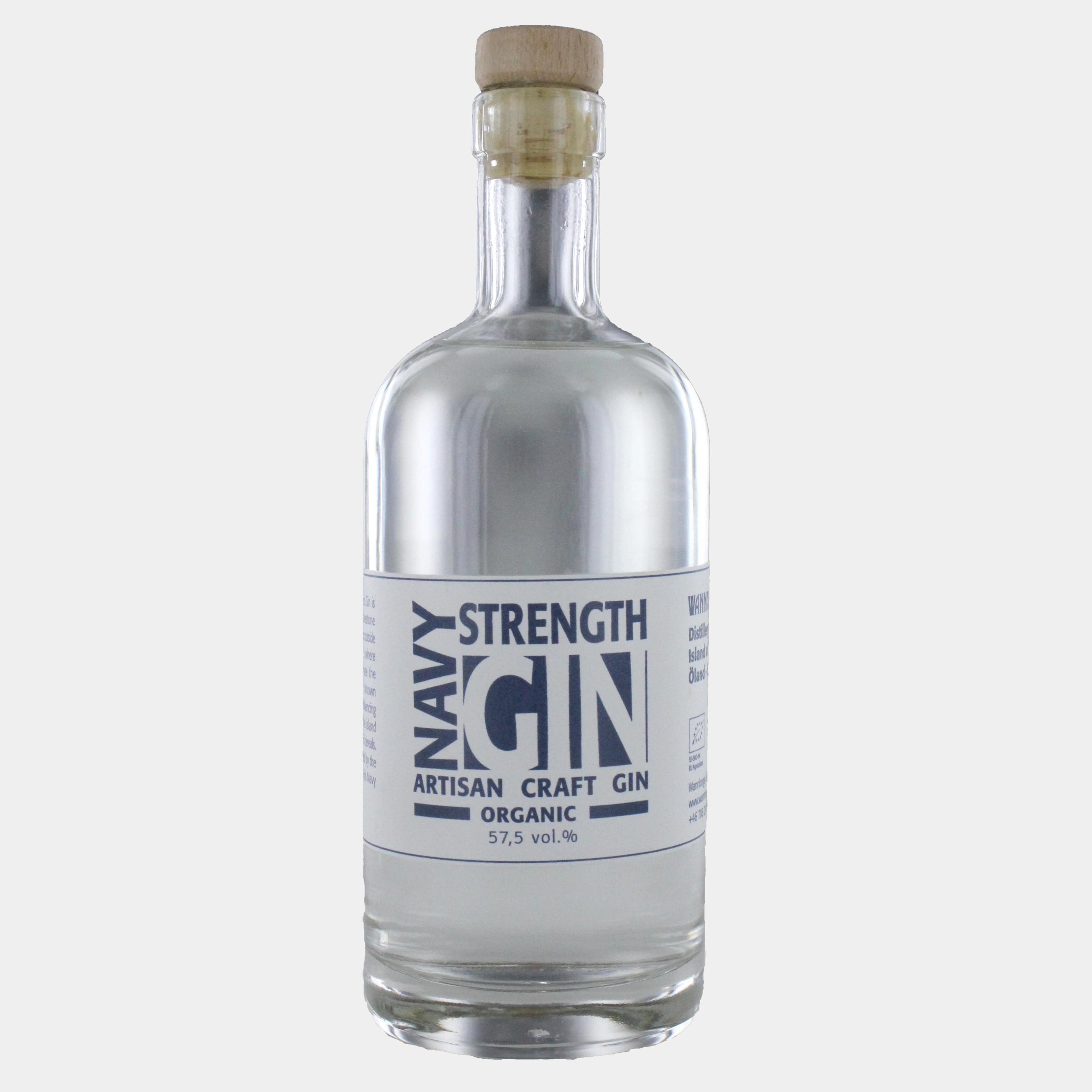 Wannborga Navy Strenght Gin 0.5 l 57,5% Alk - Ginobility