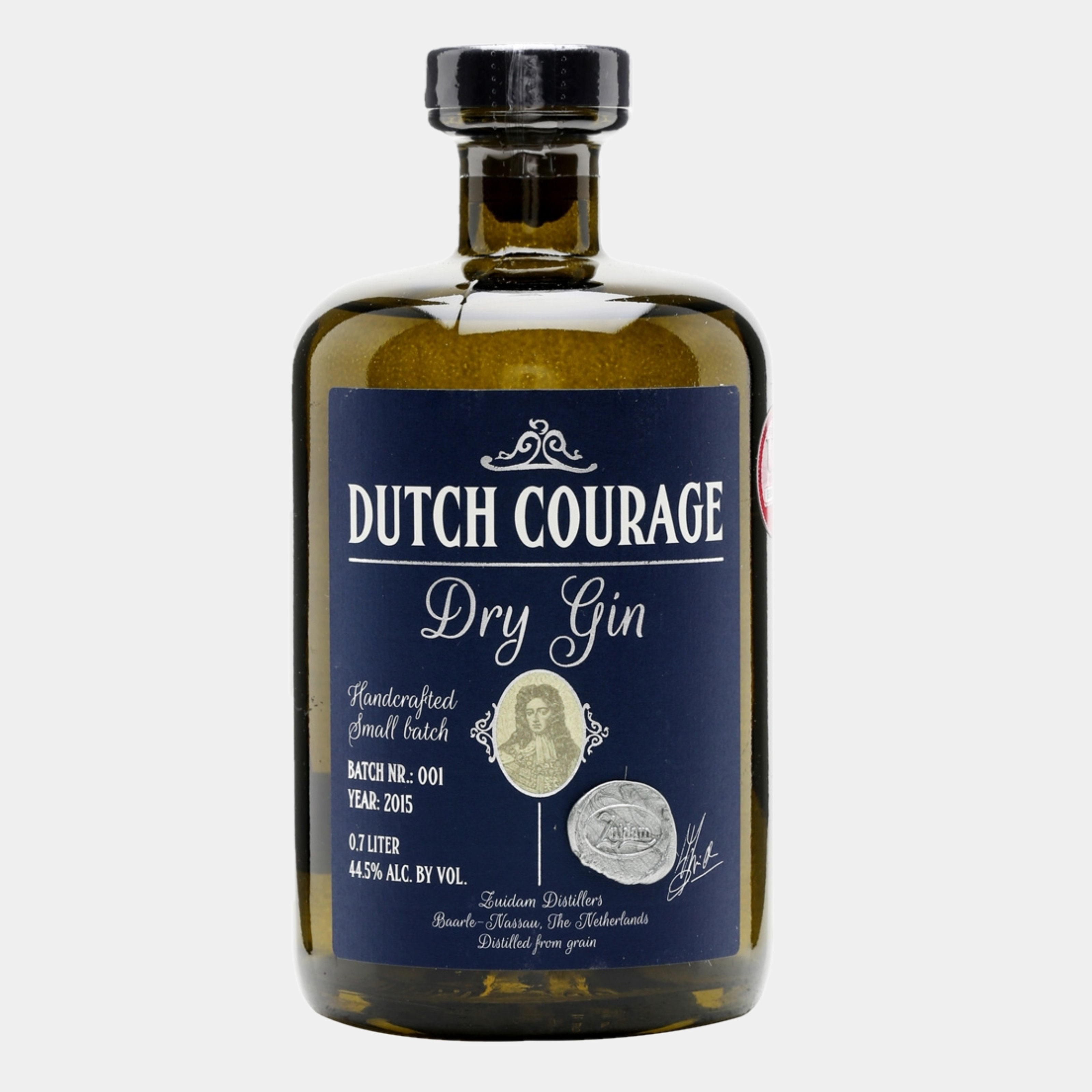 Zuidam Dutch Courage 1L 44.5% Alk.