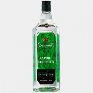 Greenall's London Dry Gin Export Strength 1L 48% Alk.