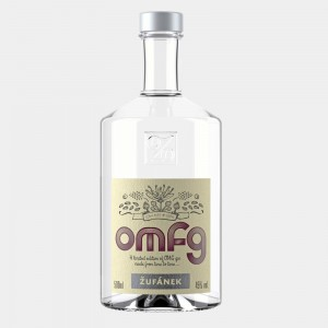 OMFG London Dry Gin 0.5L 45% Alk.