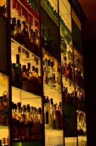 Umfangreiche Spirituosen Auswahl im Clouds Zürich