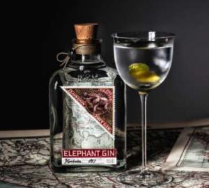 Elephant Gin - Höchst vielseitig in Cocktails einsetzbar.