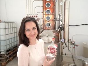 Eva Winterling und ihr Gin