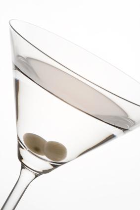 Gibson Martini: Silberzwiebel statt Olive