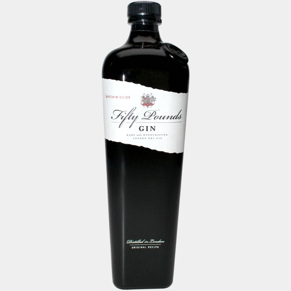 Fifty Pounds Gin 0.7L 43.5% Alk.