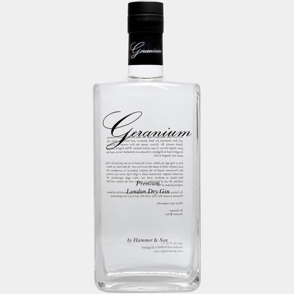 Geranium Gin 0.7L 44% Alk.