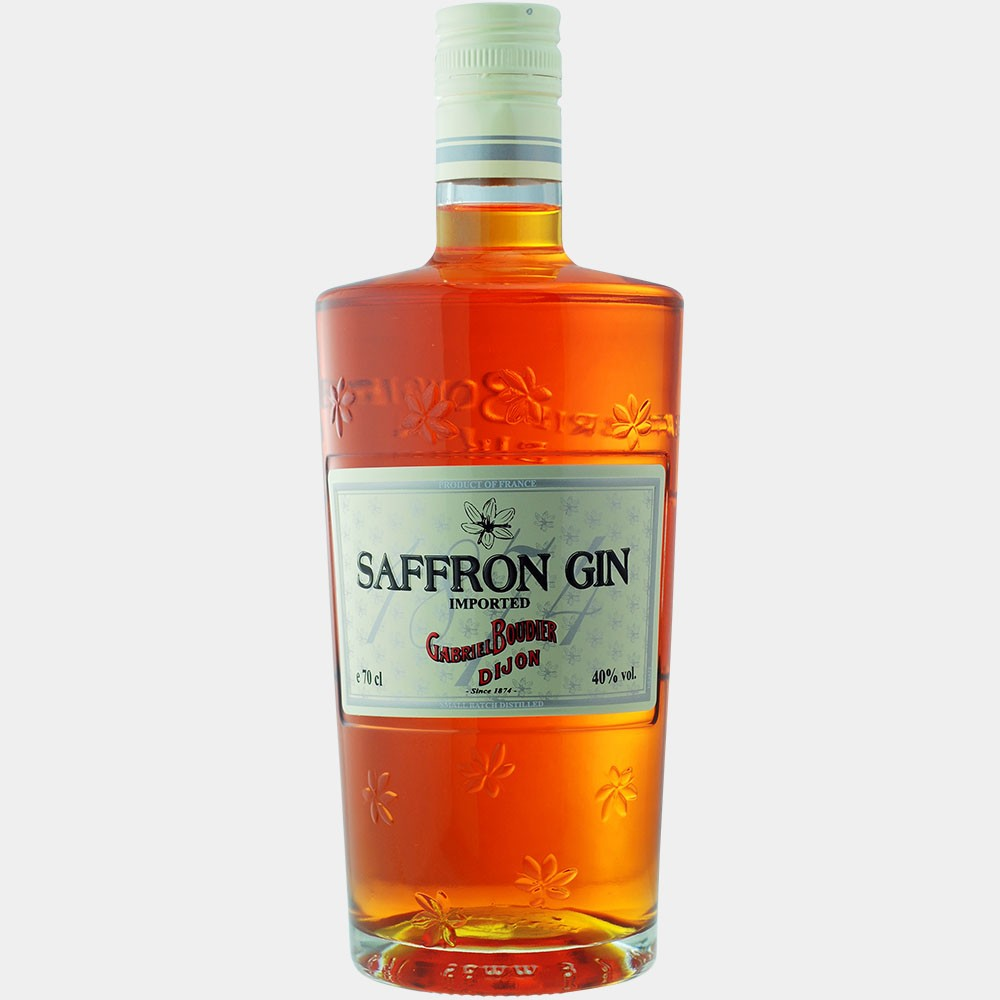 Saffron Gin 0.7L 40% Alk.