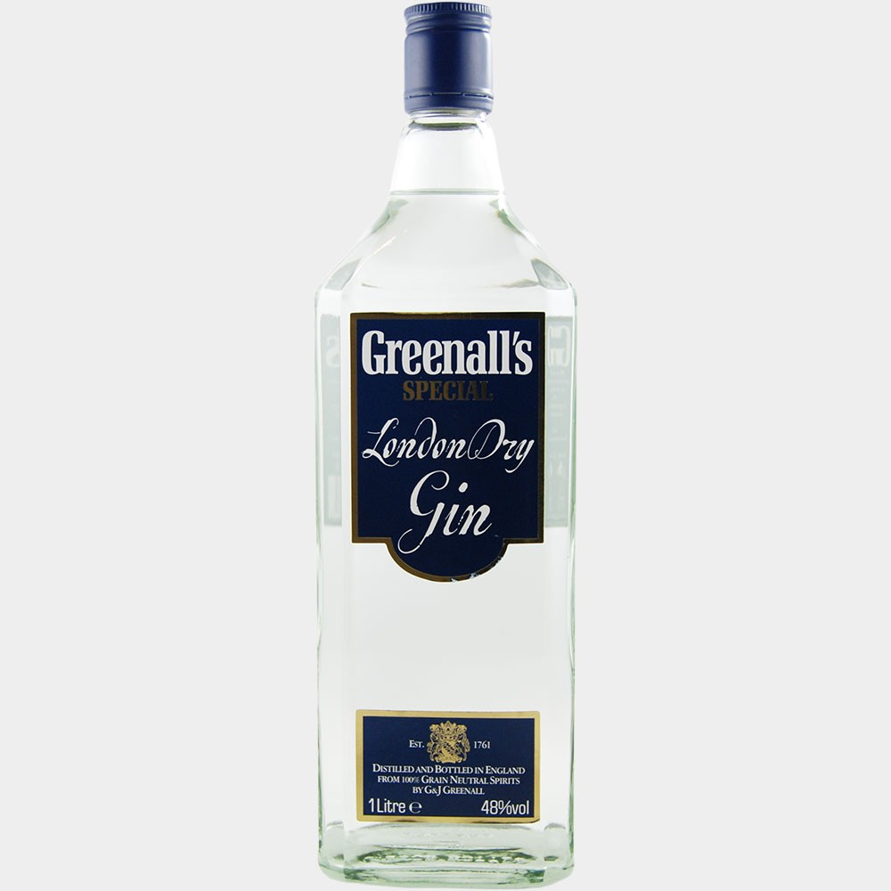 Greenall's Special London Dry Gin 1L 48% Alk.