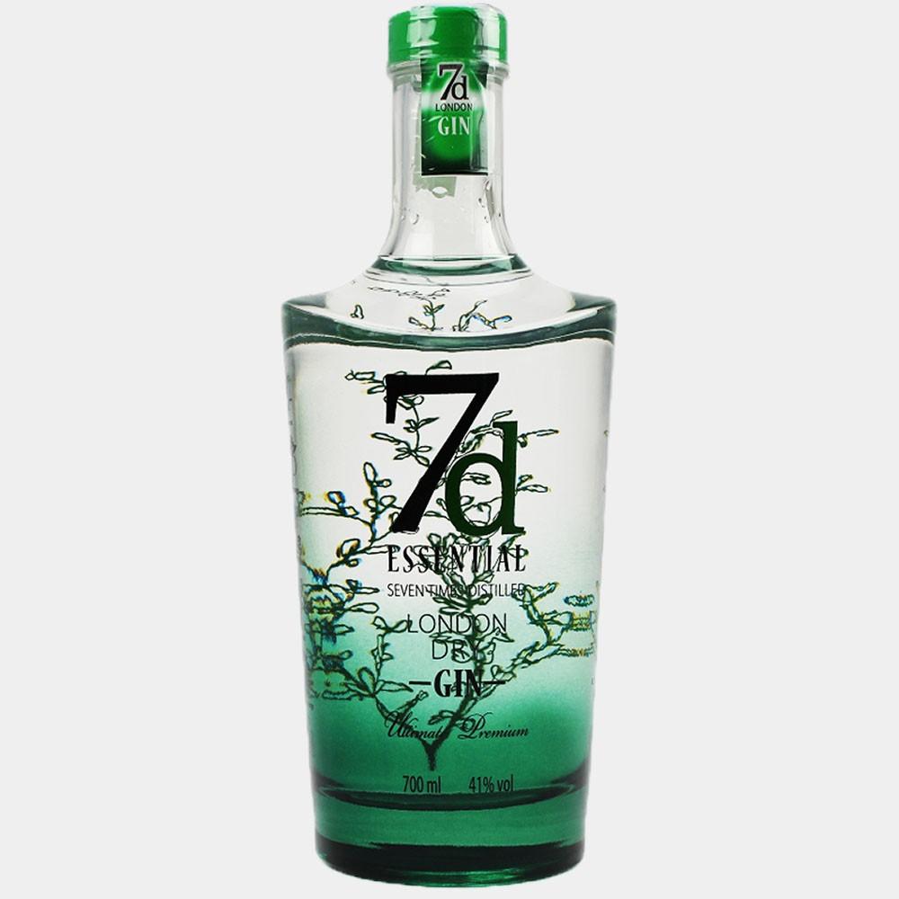 7d Essential London Dry Gin 0.7L 41% Alk.