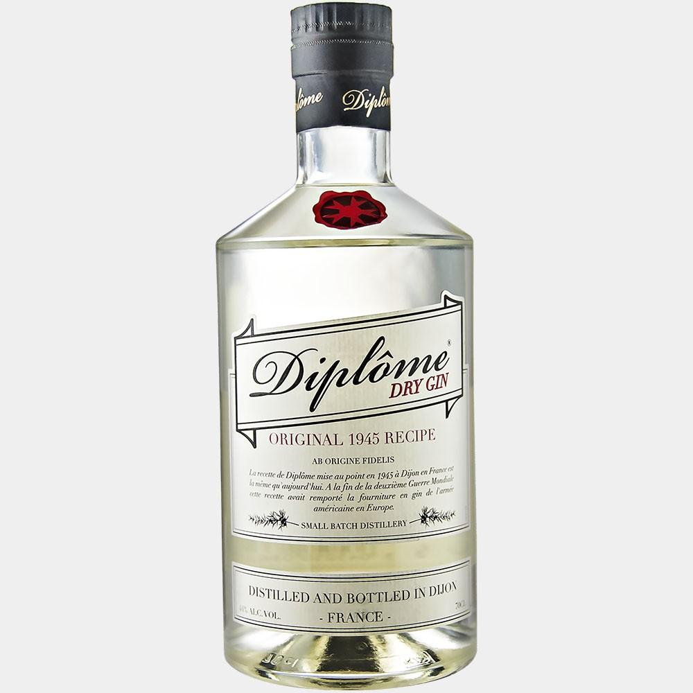 Diplome Dry Gin 0.7L 44% Alk.