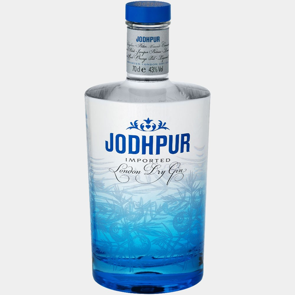 Jodhpur London Dry Gin 0.7L 43% Alk.