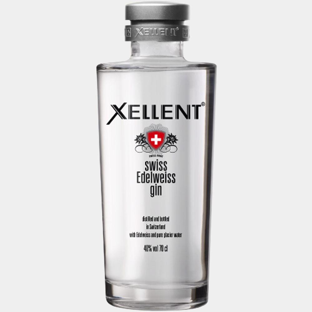 Xellent Swiss Edelweiss Gin 0.7L 40% Alk.