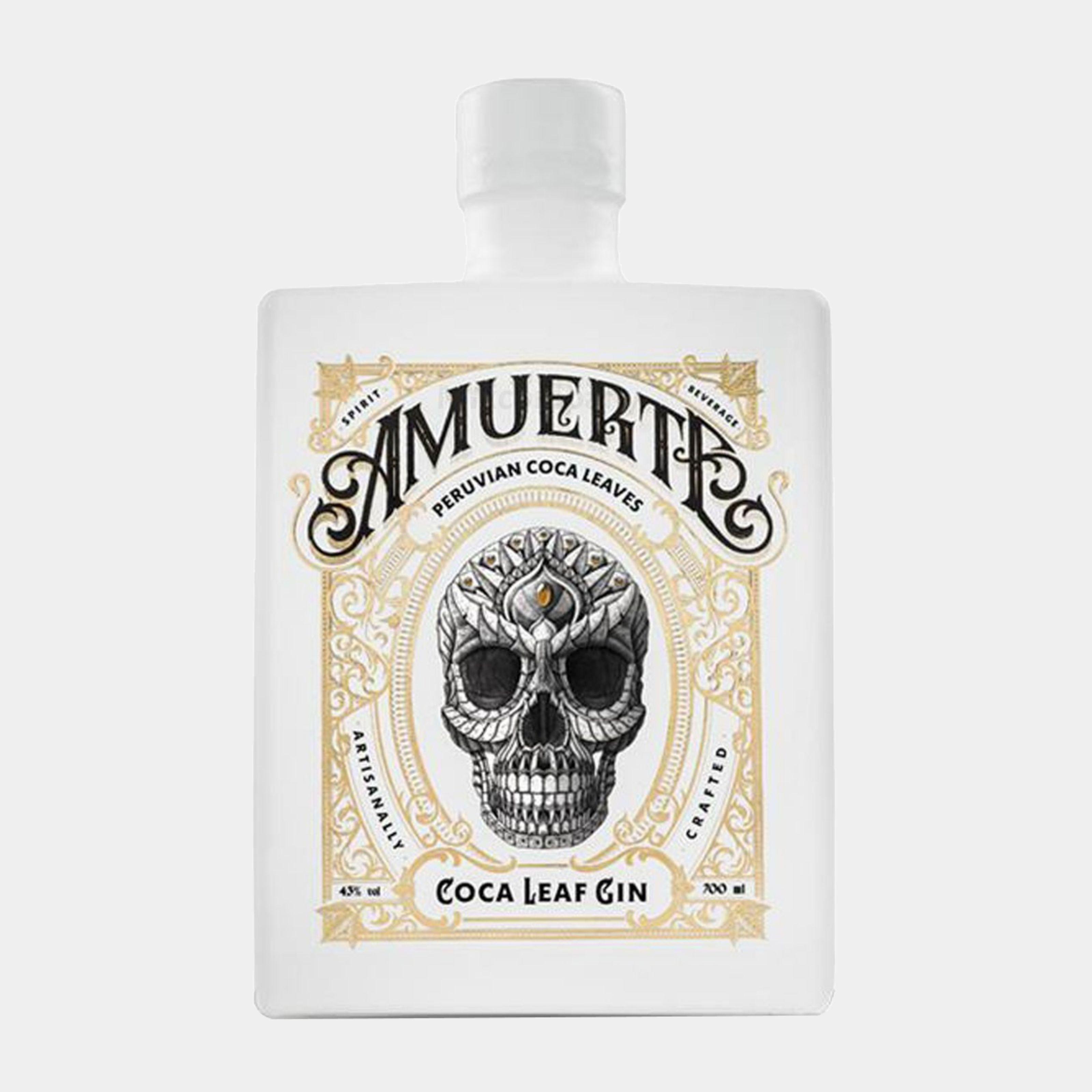 Amuerte Coca Leaf Gin White 0,7l  43% Alk.
