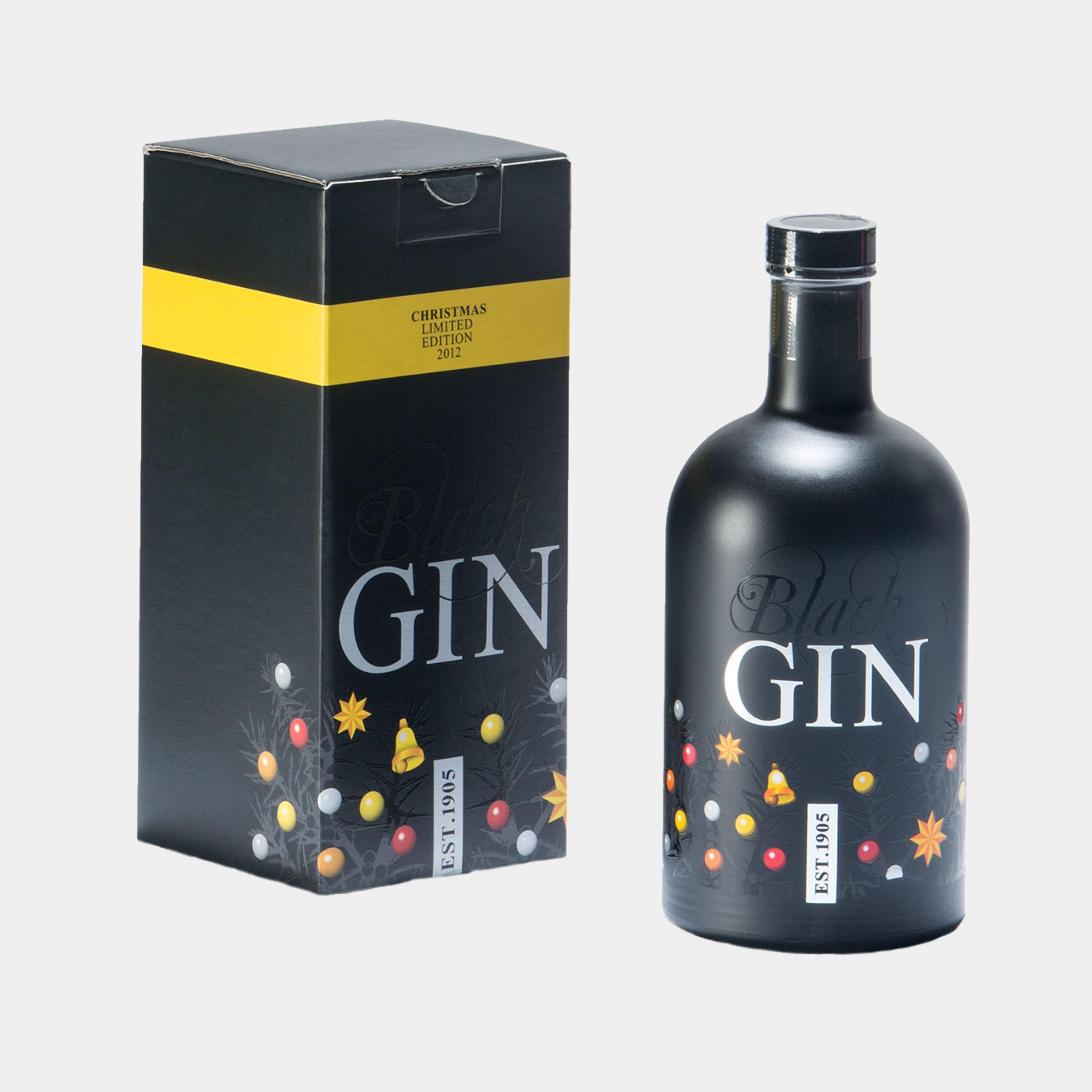 Gansloser Black Gin Edition 1905 0.7L 45% Alk.