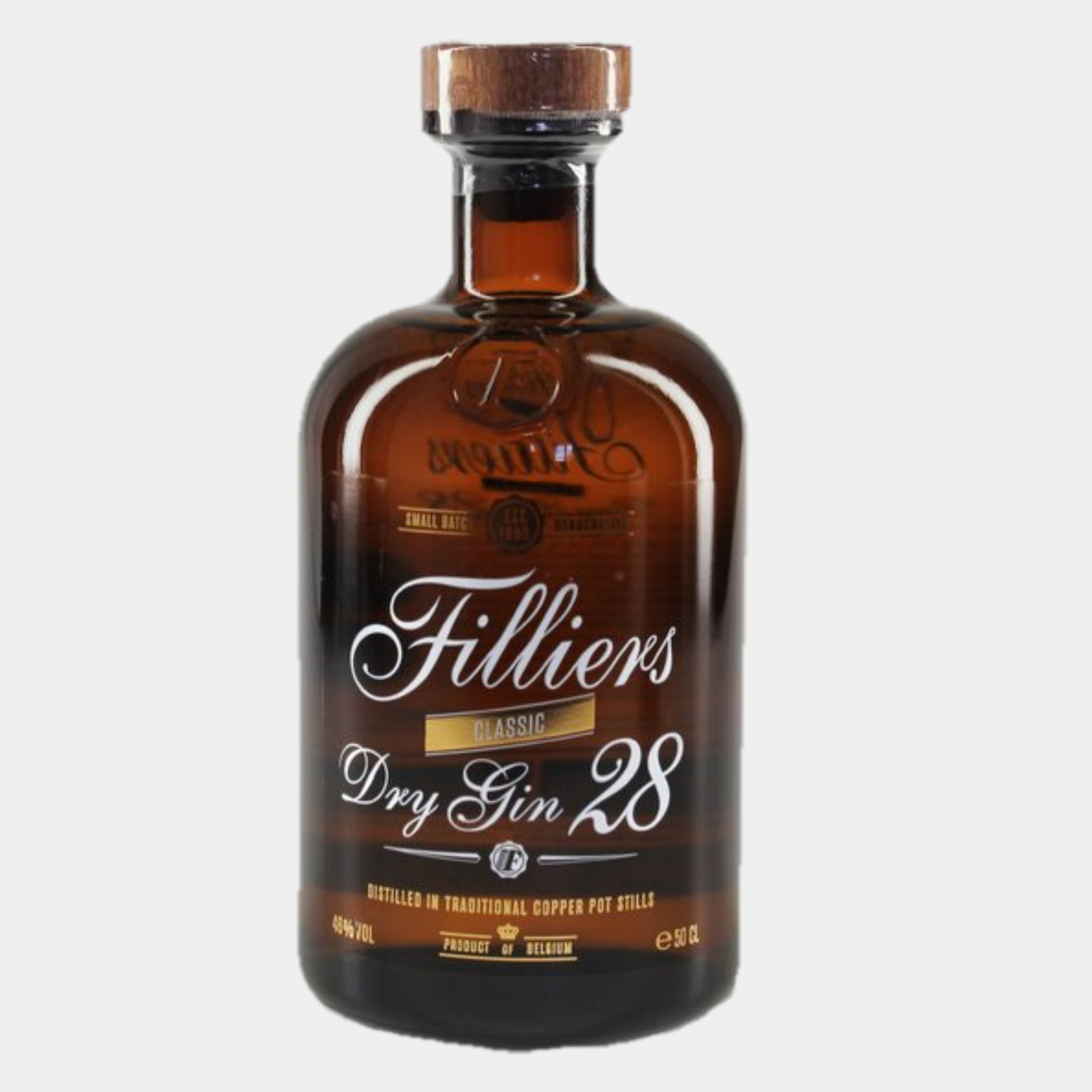Filliers Dry Gin 0.5 L 46% Alk.