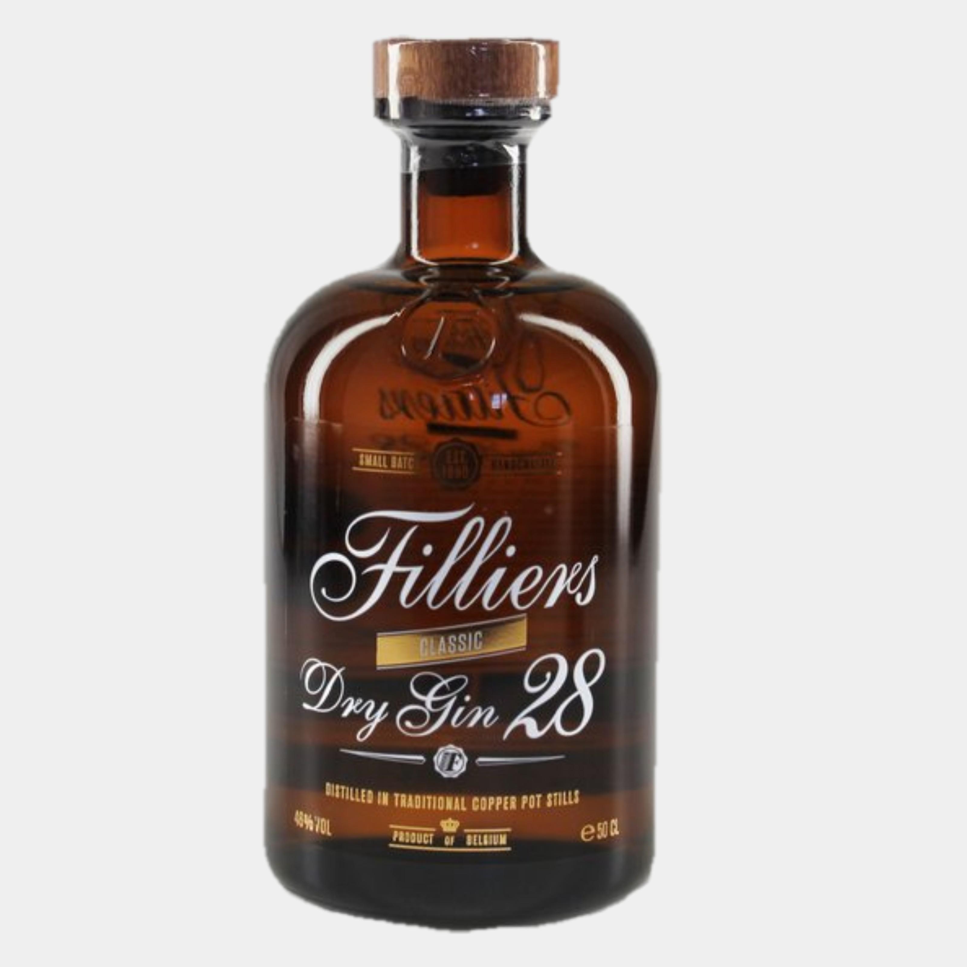 Filliers Dry Gin 0.5 L 46% Alk.