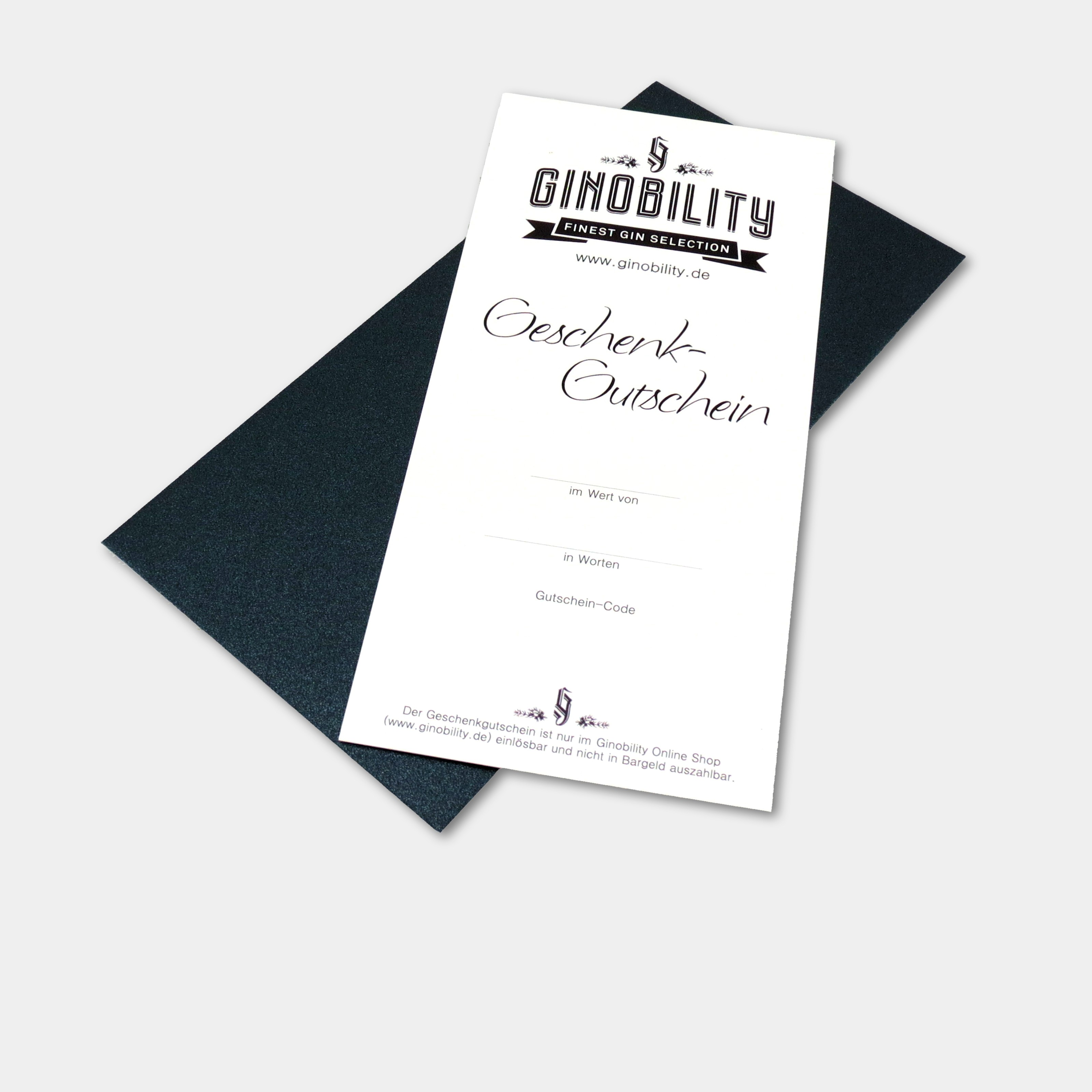 Ginobility Geschenk-Gutschein