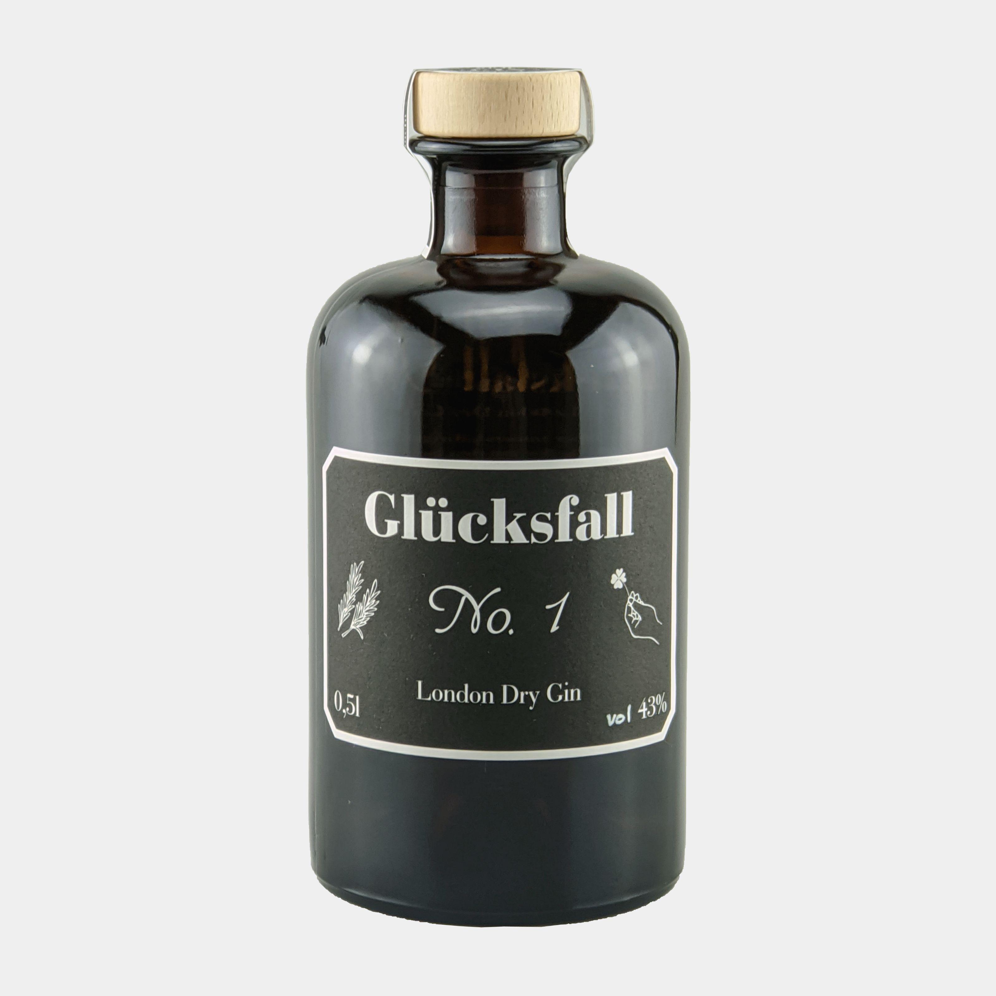 Gluecksfall Gin 0.5l 43% Alk.