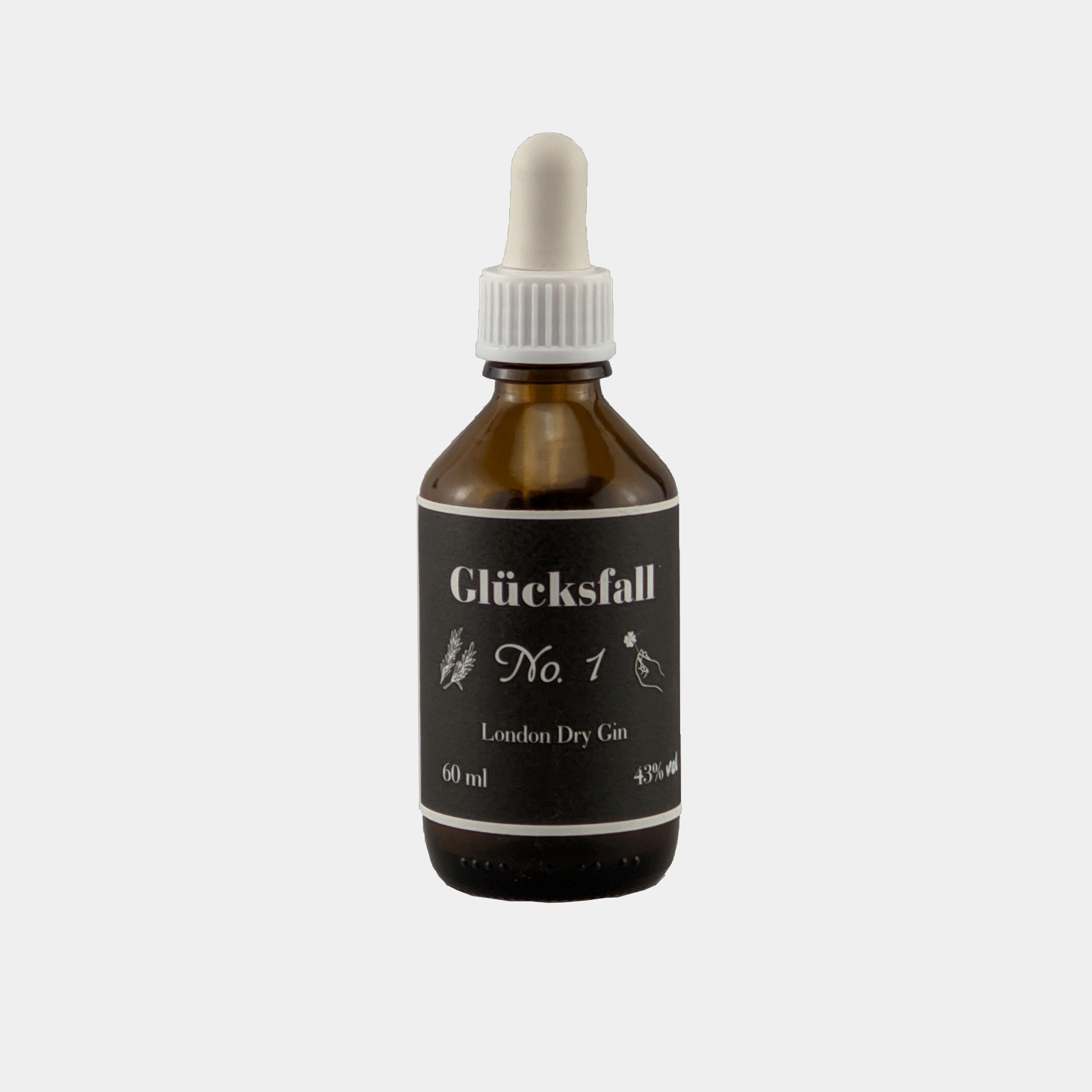 Gluecksfall Gin 0.06l 43% Alk.