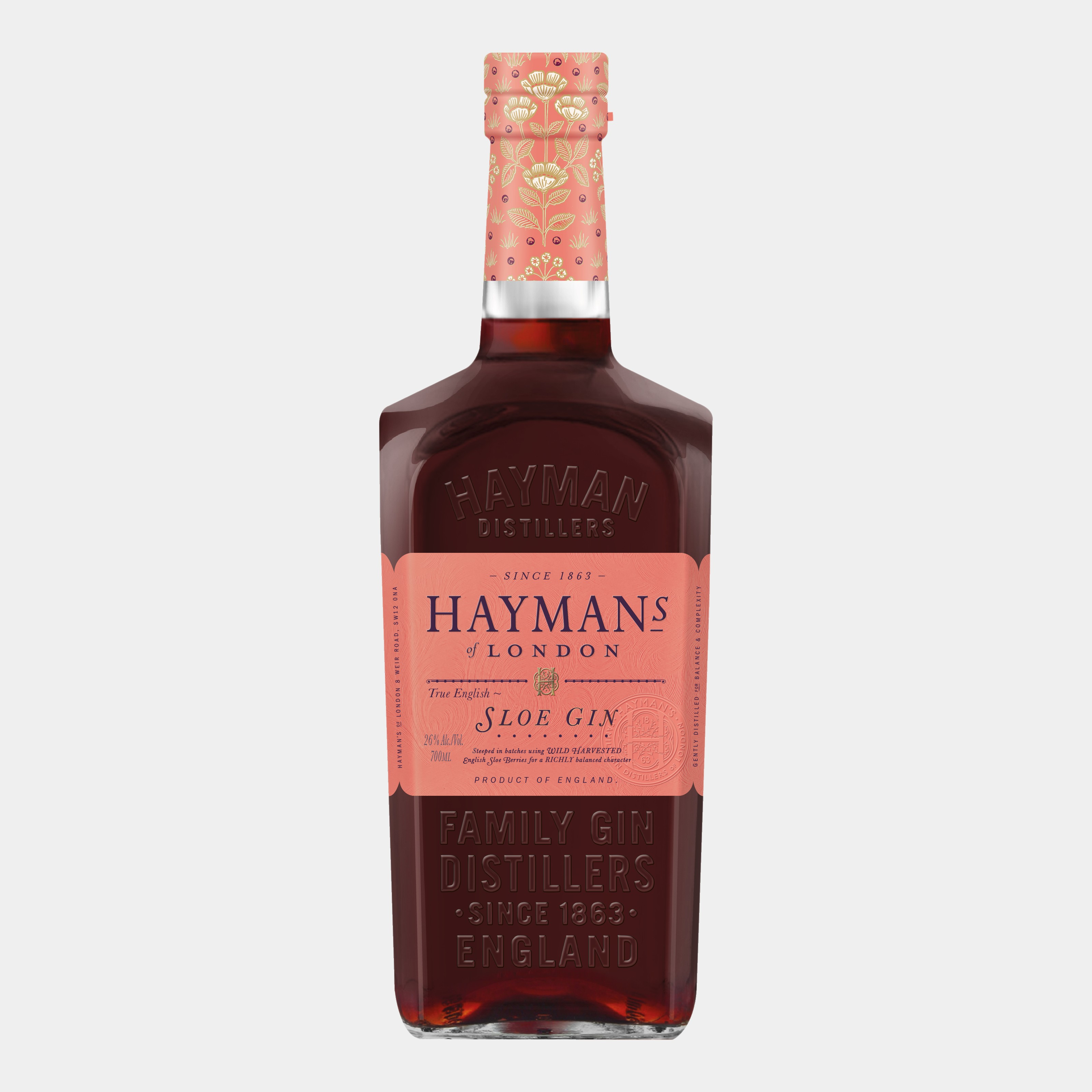 Hayman's Sloe Gin 0.7L 26% Alk.