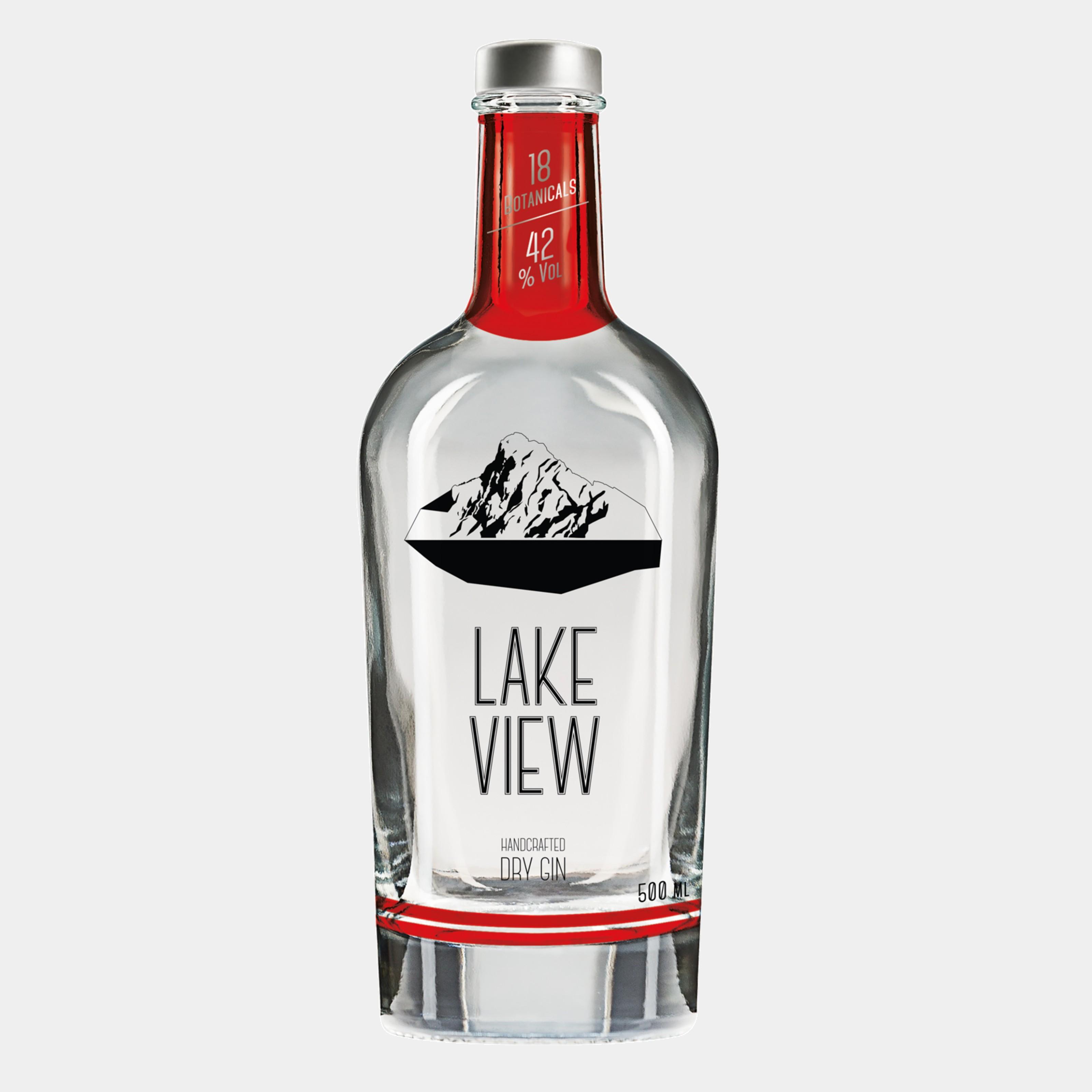 Lake View Gin 0.5 L 42% Alk.