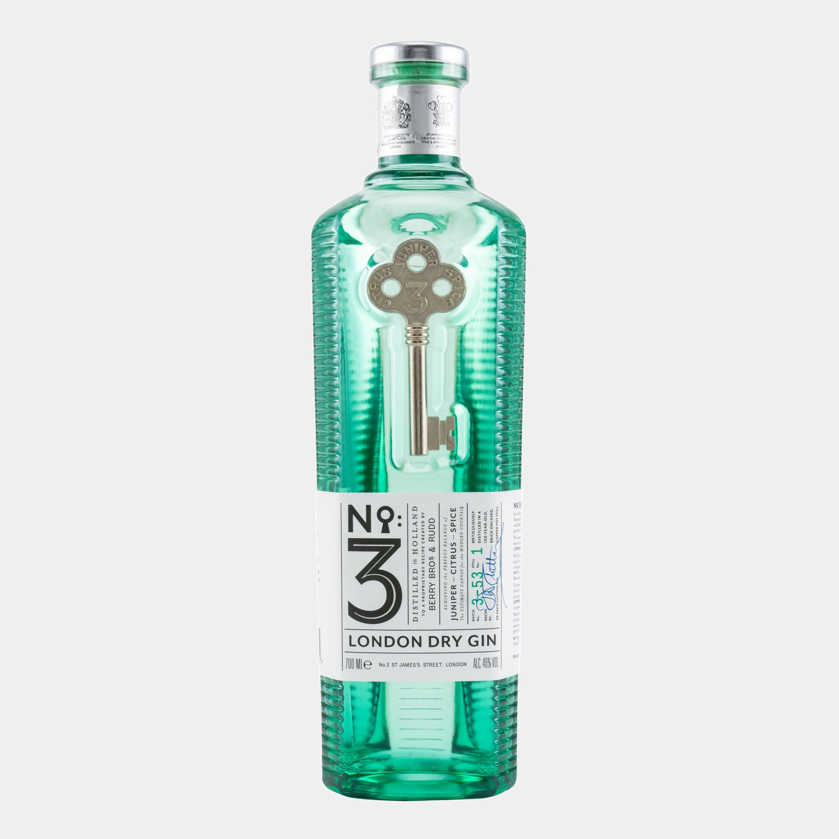 No. 3 London Dry Gin 0.7L 46% Alk.