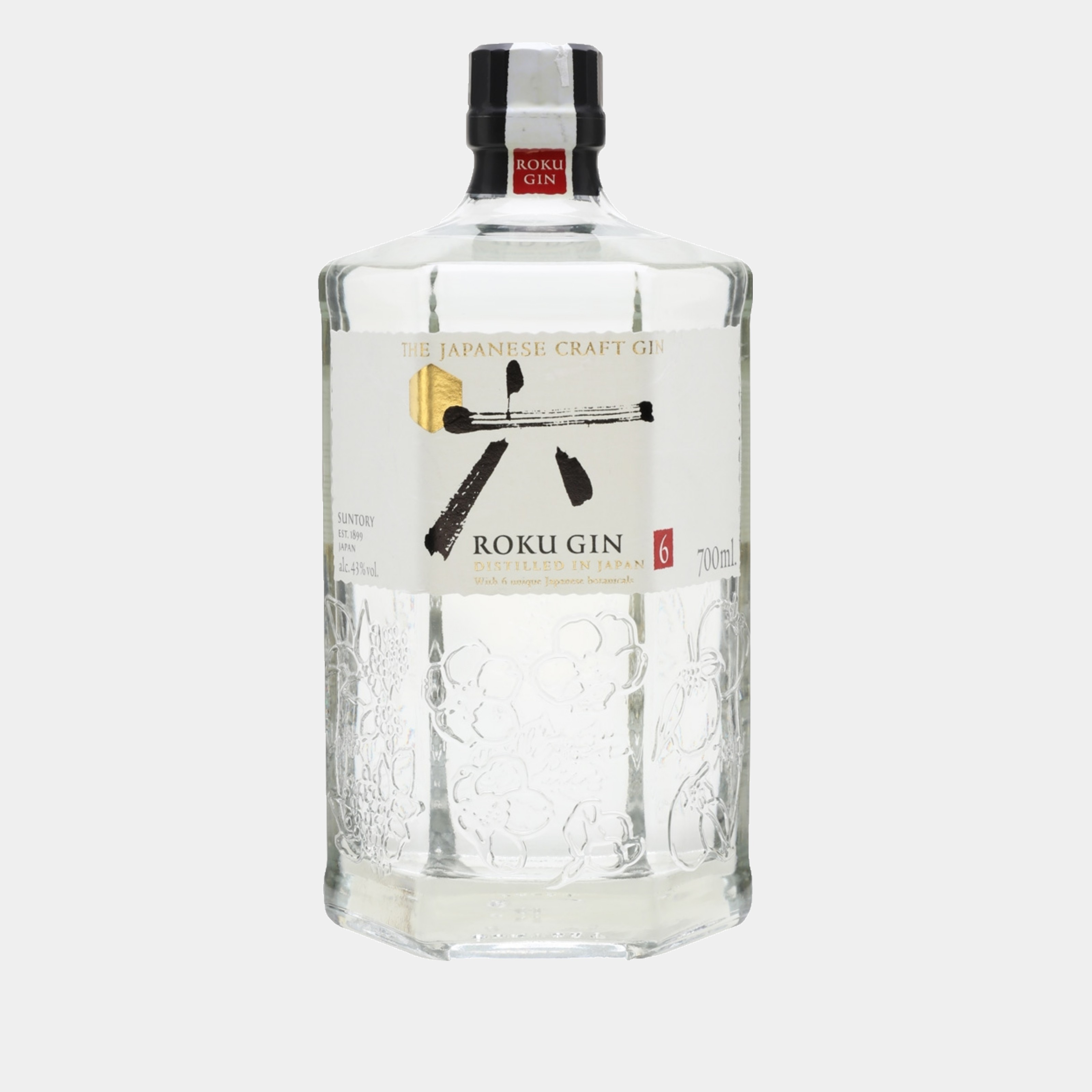 Roku Gin 0.7l 43% Alk.