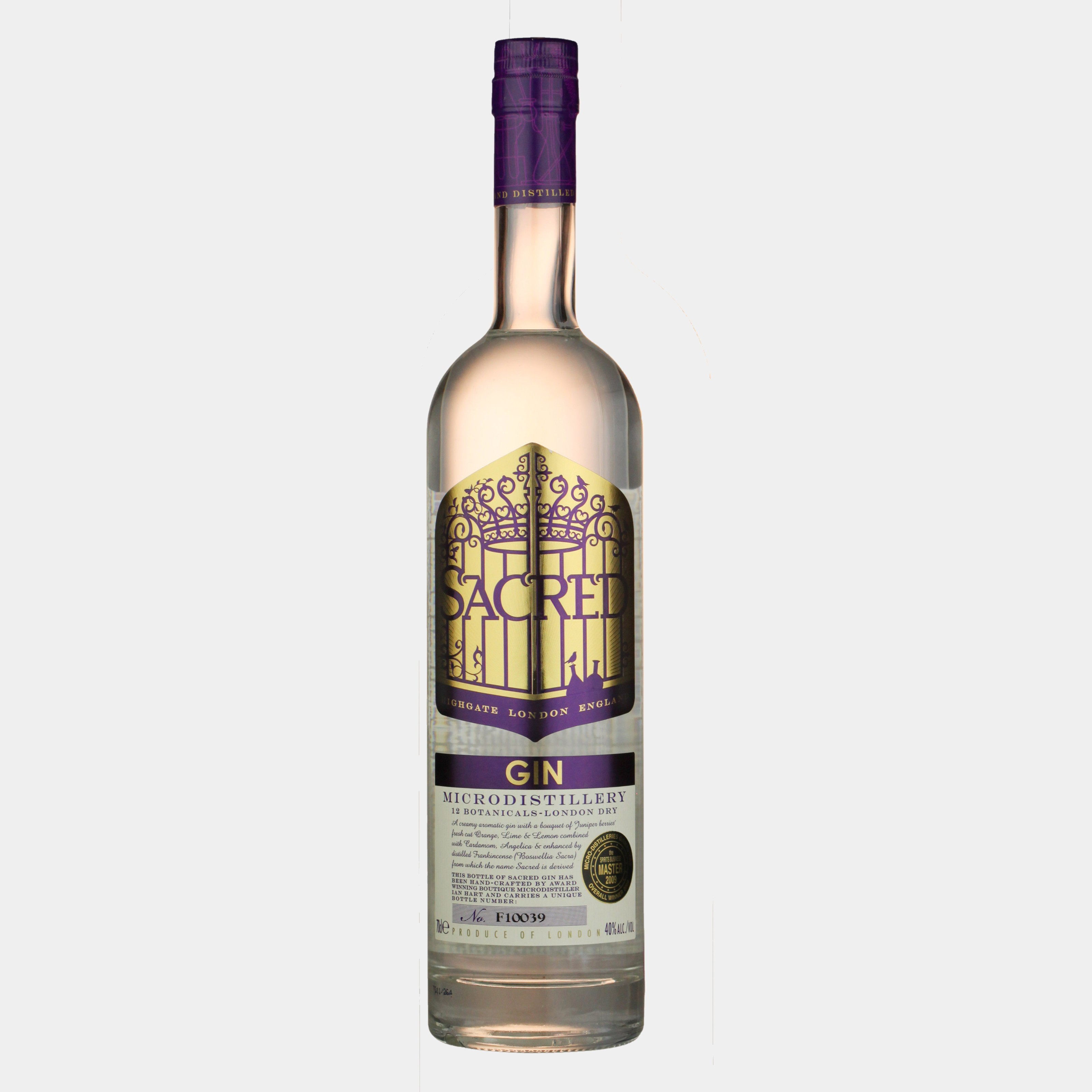 Sacred Gin 0.7L 43.8% Alk.