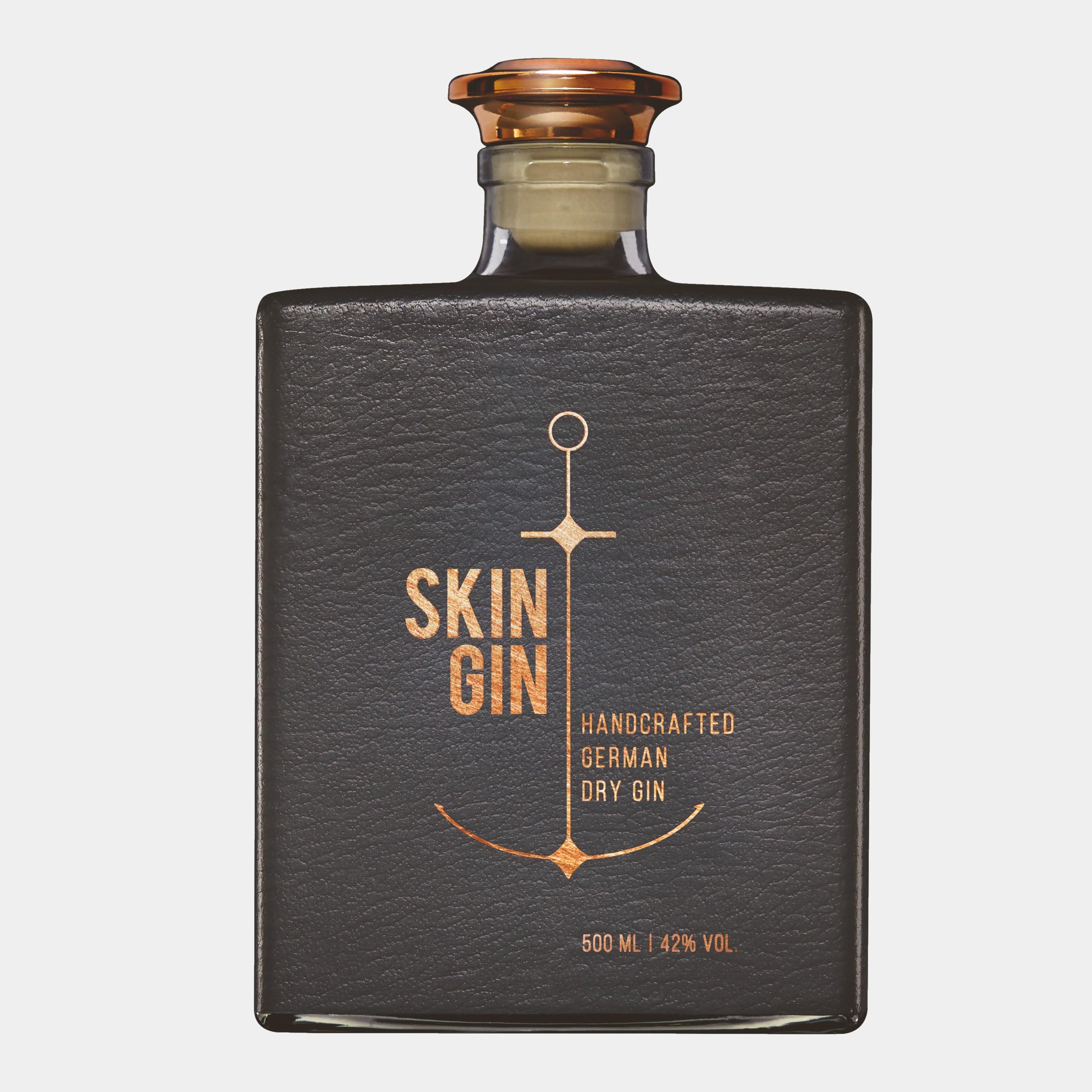 Skin Gin Anthracite Skin 0,5 L 42% Alk.