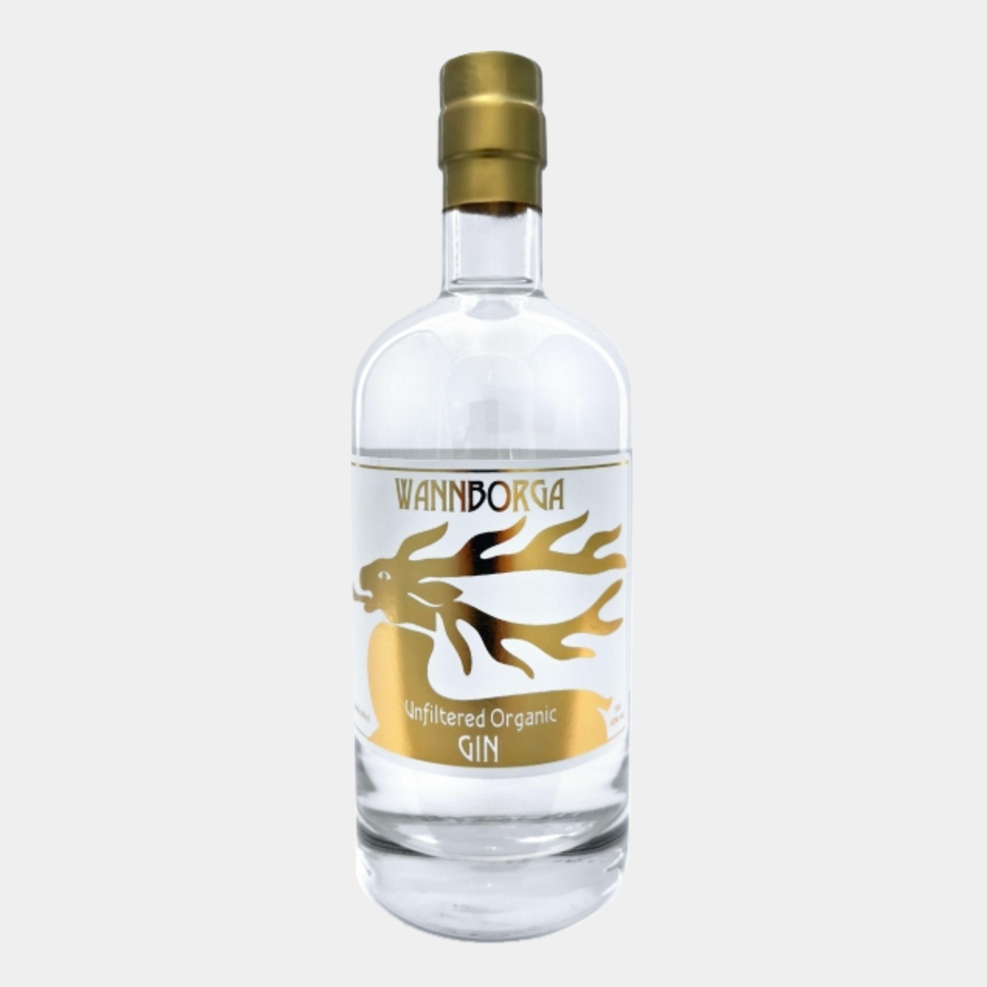 Wannborga Unfiltered Gin 0.5L 40% Alk.