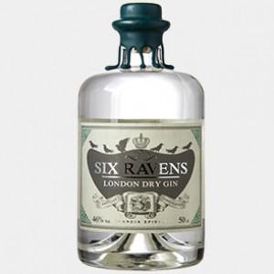 Six Ravens Gin 0.5L 46% Alk.